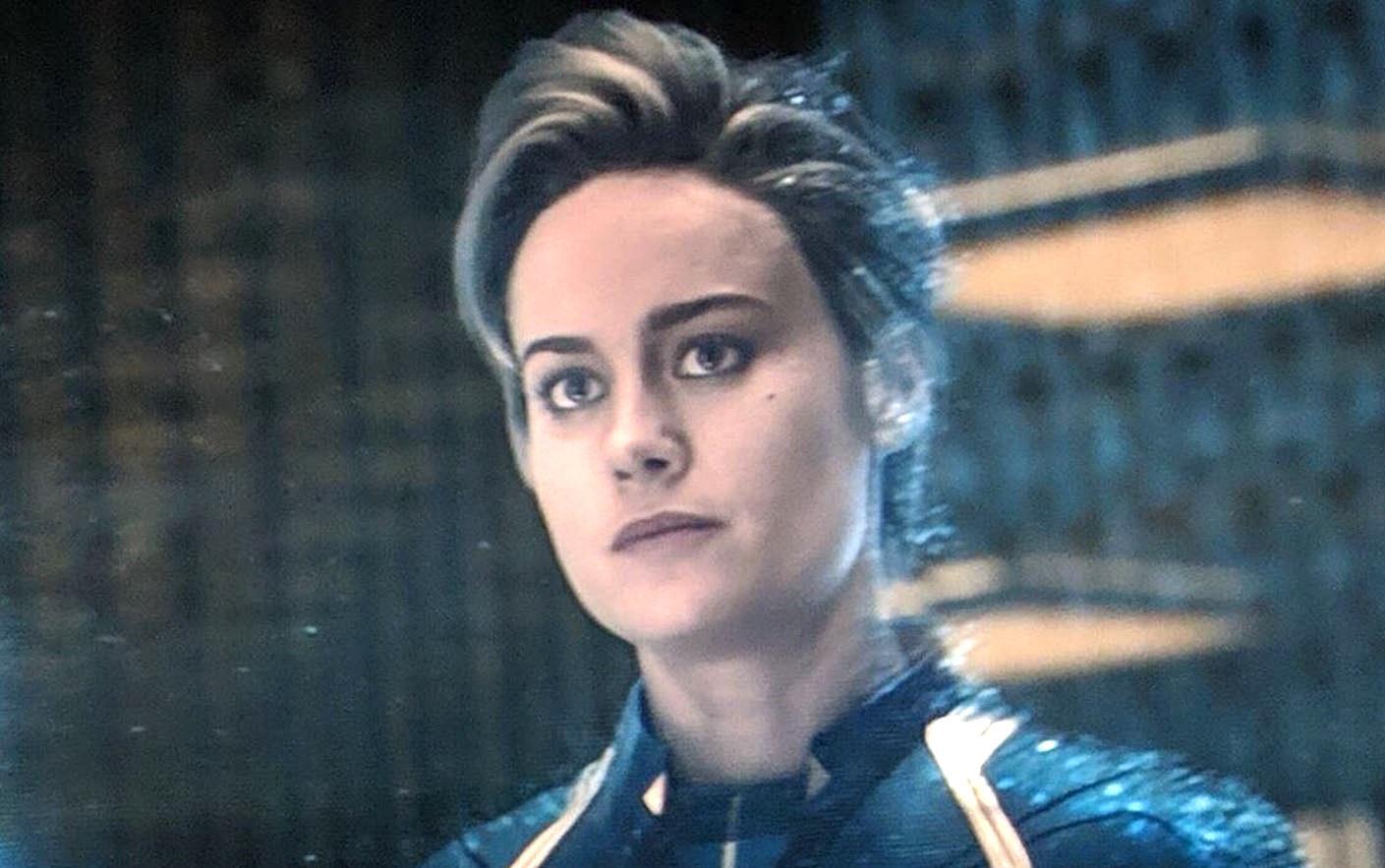 Captain Marvel Short Hair Wallpapers Wallpaper Cave