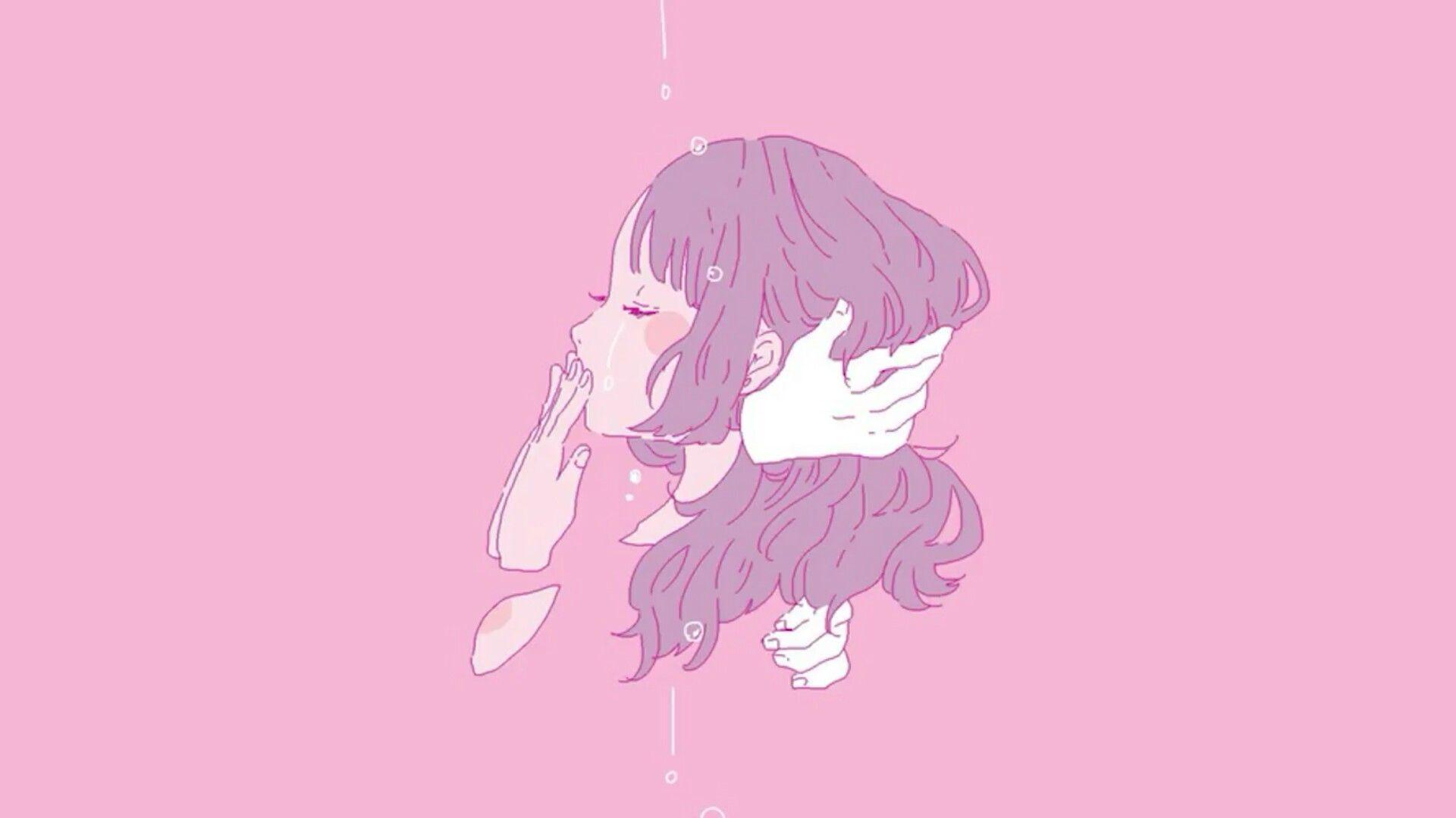 Anime Girl Aesthetic Desktop Wallpapers Wallpaper Cave