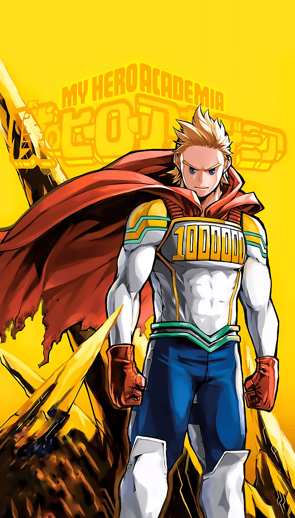 My Hero Academia Mobile Wallpapers Wallpaper Cave