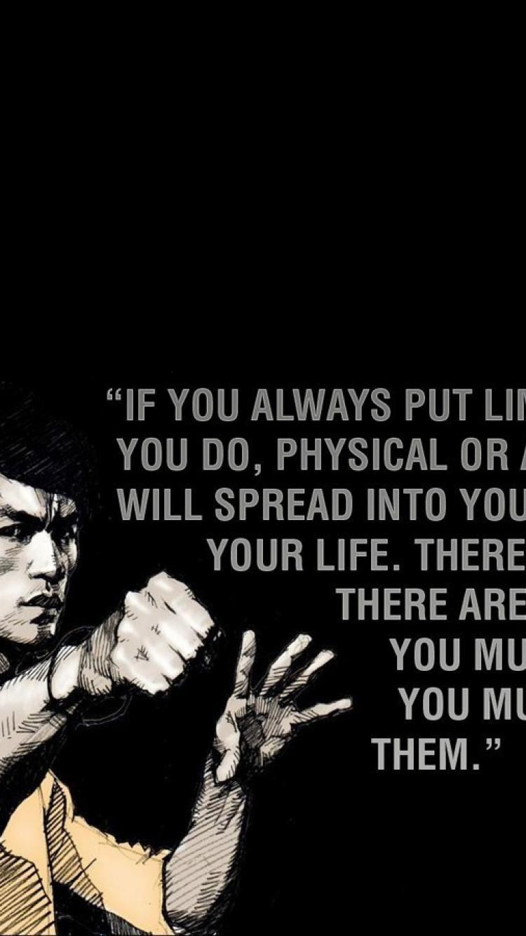 Bruce Lee Quotes Mobile Wallpapers Wallpaper Cave