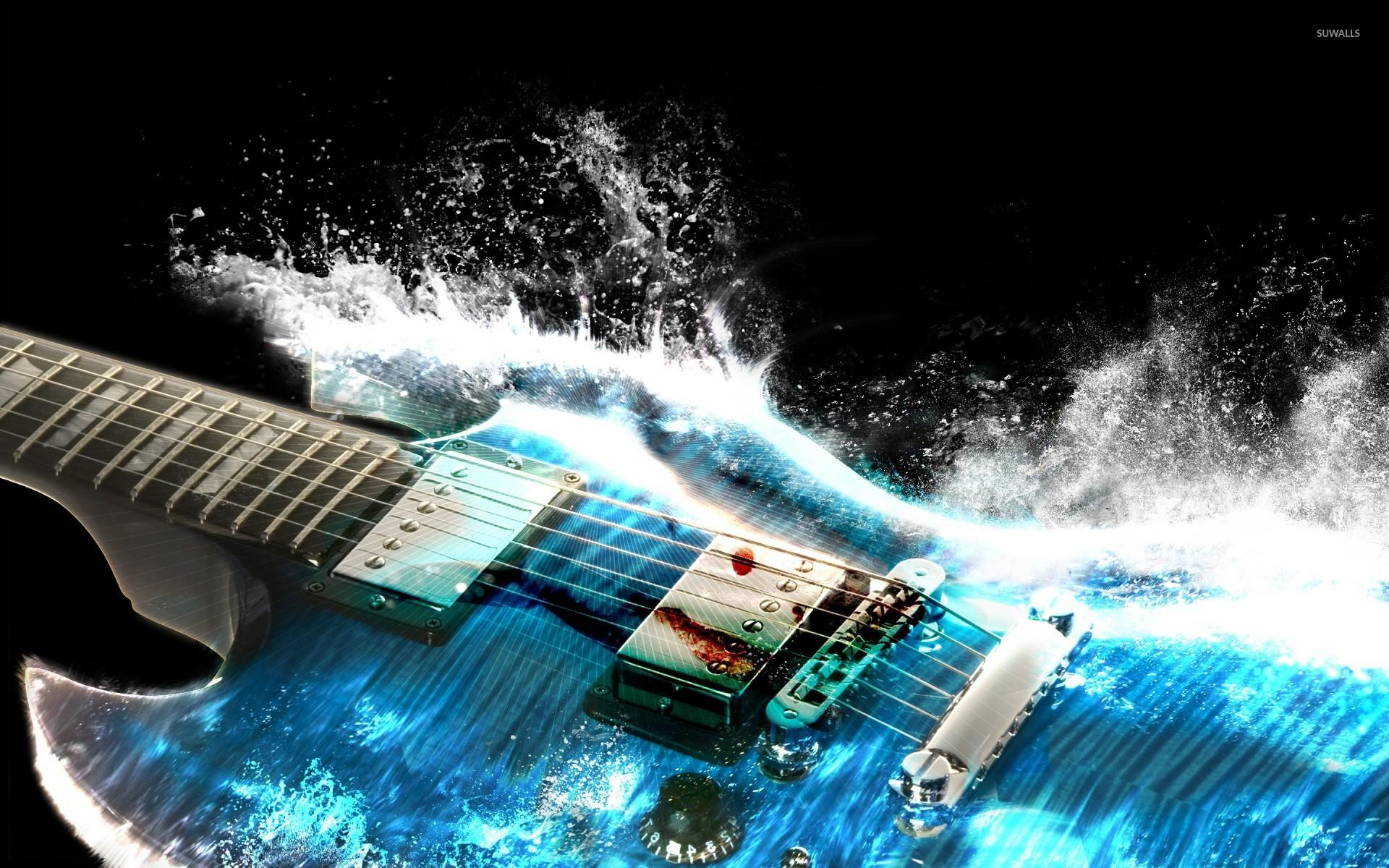 Water guitar wallpapers