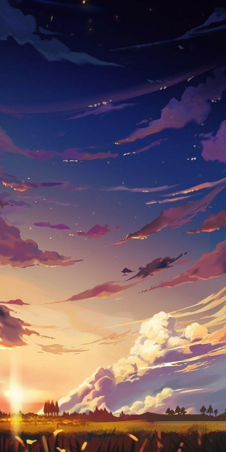 4k Scenery Sunset Anime Wallpapers - Wallpaper Cave