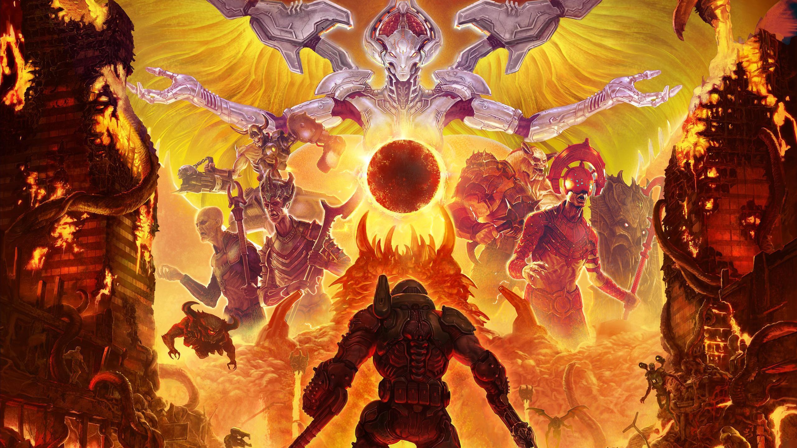 Doom Eternal Desktop Wallpapers - Wallpaper Cave