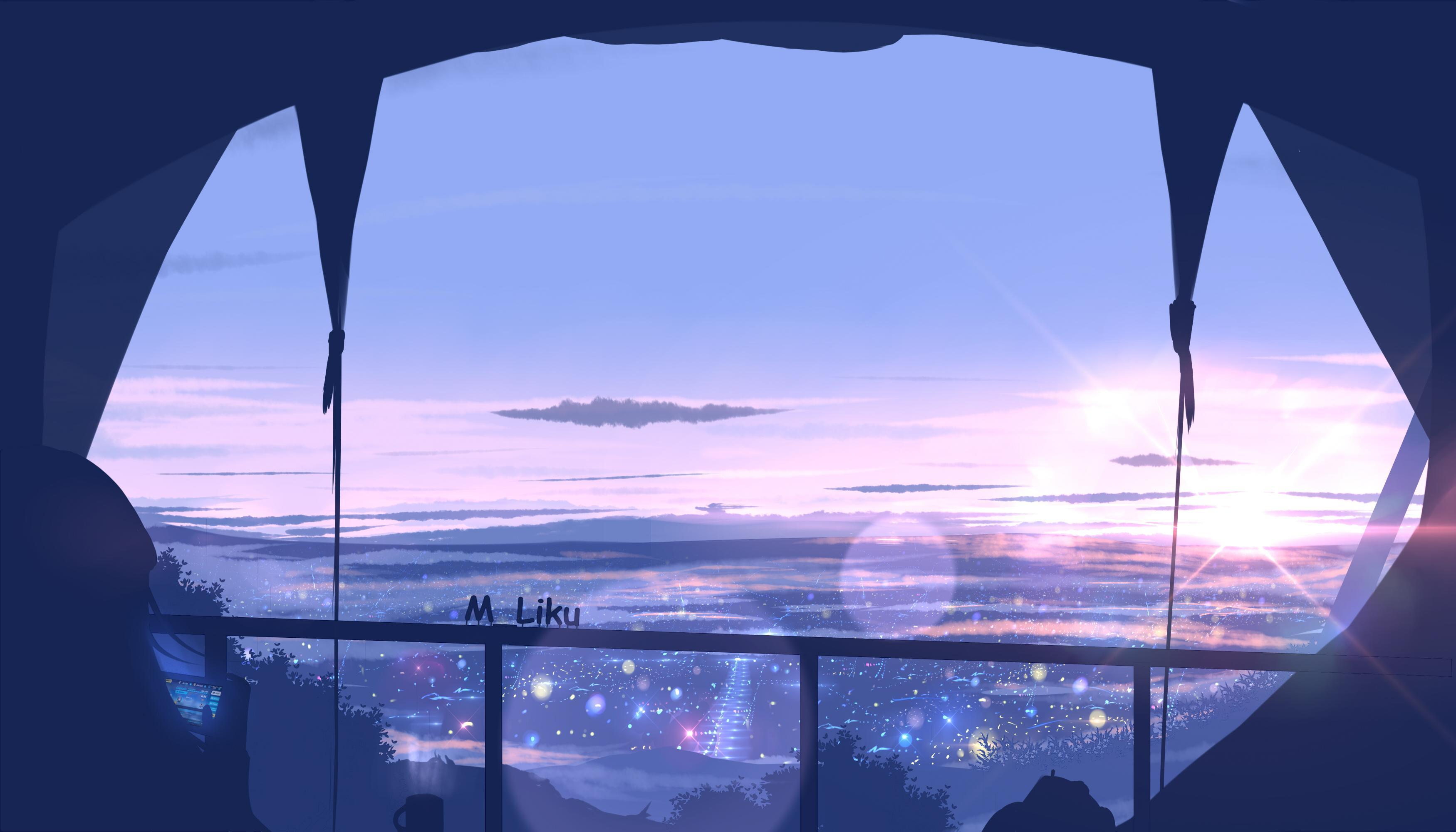 Anime Artwork Landscape 4k Wallpapers - Wallpaper Cave