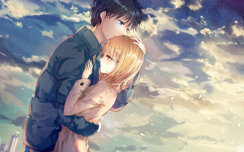 Lp8djerjsrwyjm Hugs that will break some bones. https wallpapercave com romantic anime hug wallpapers