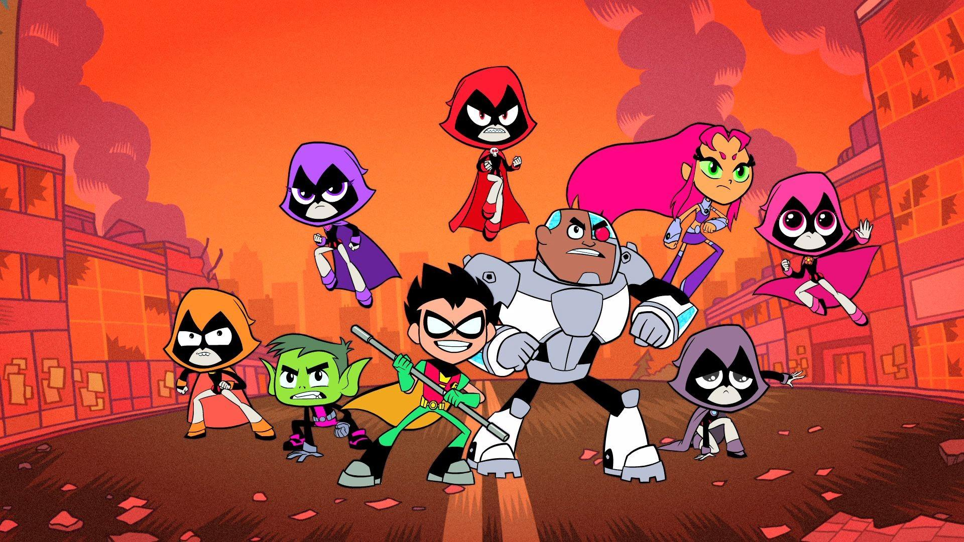 Refrigerator the teen titans