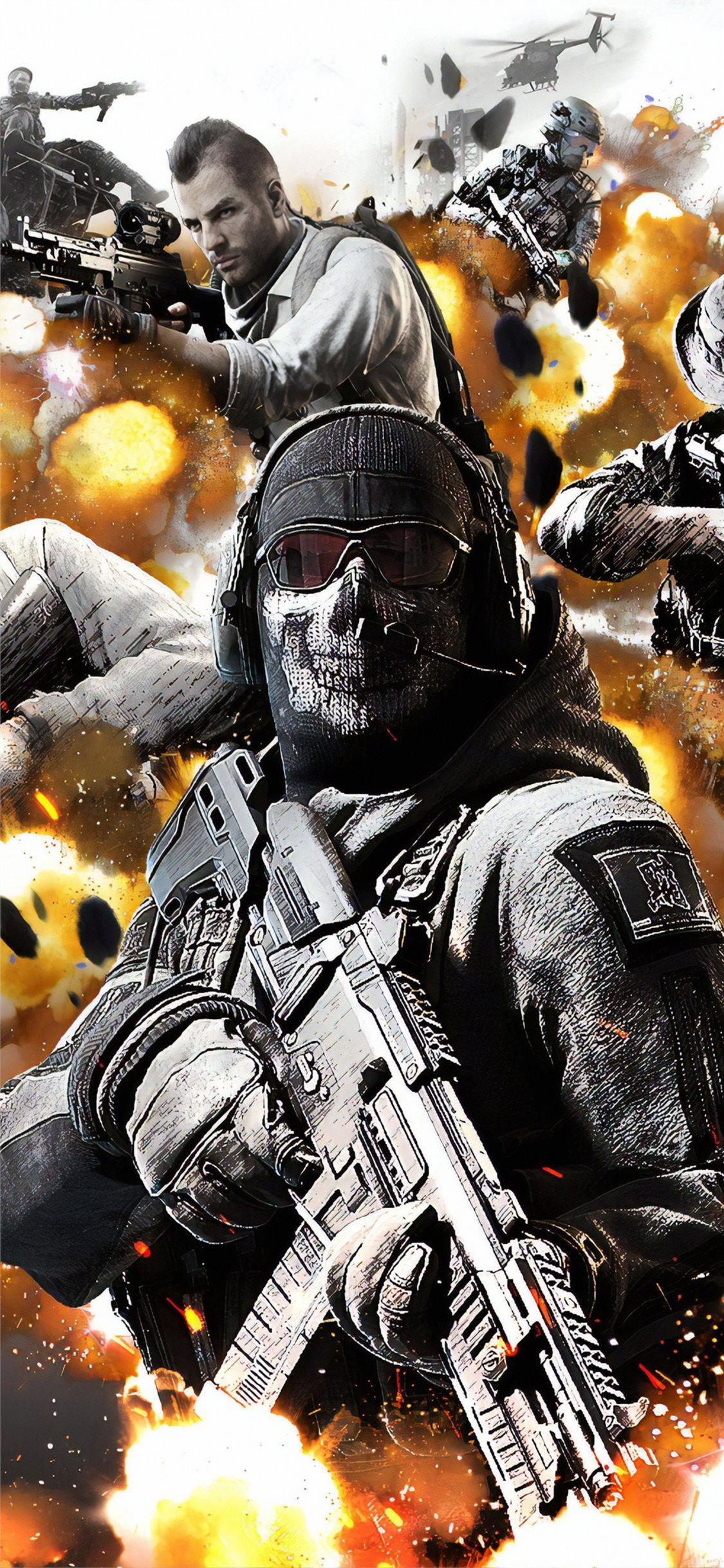 Call Of Duty Mobile Iphone Wallpapers Wallpaper Cave