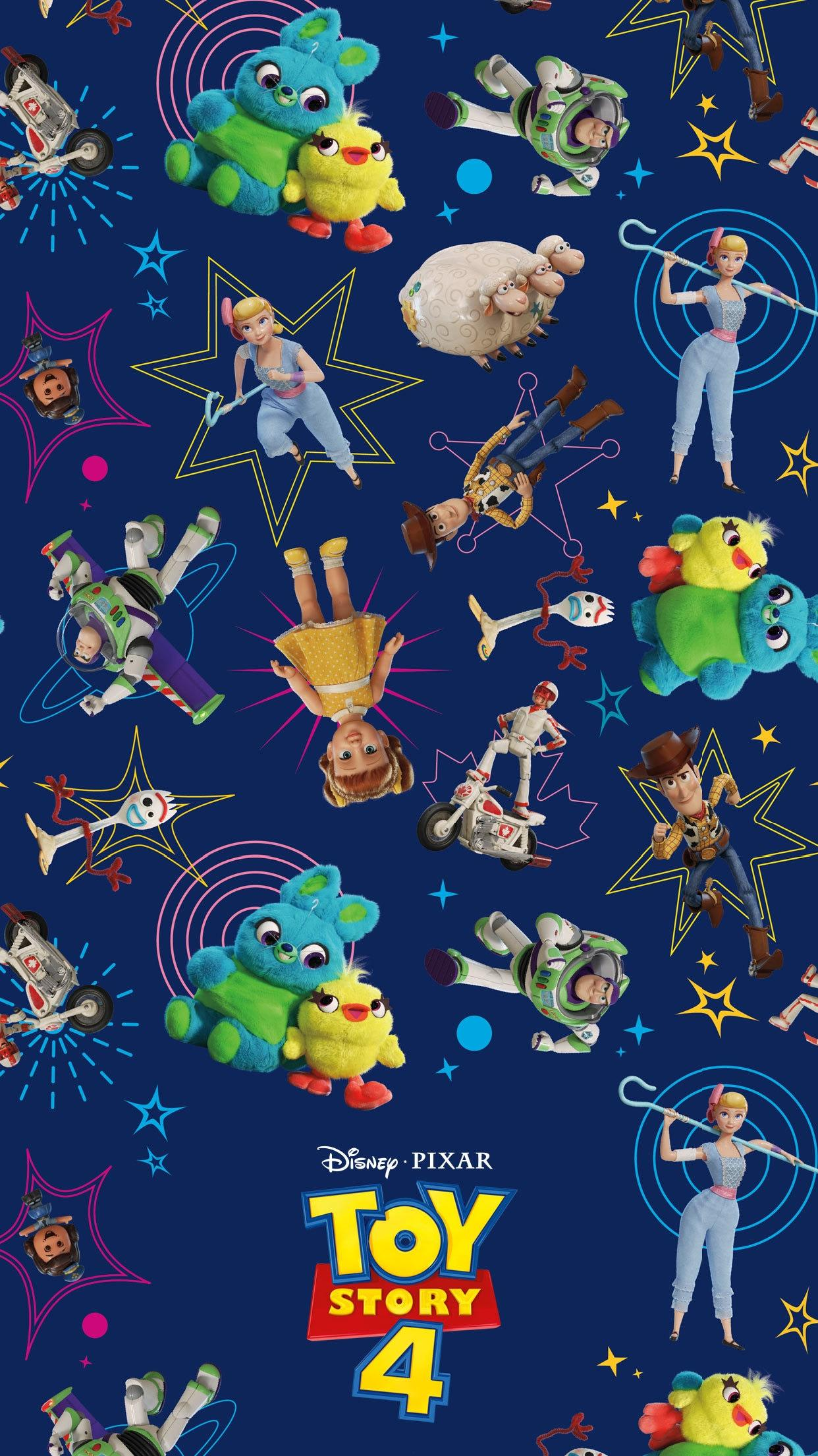 Toy Story 4 Wallpapers Iphone