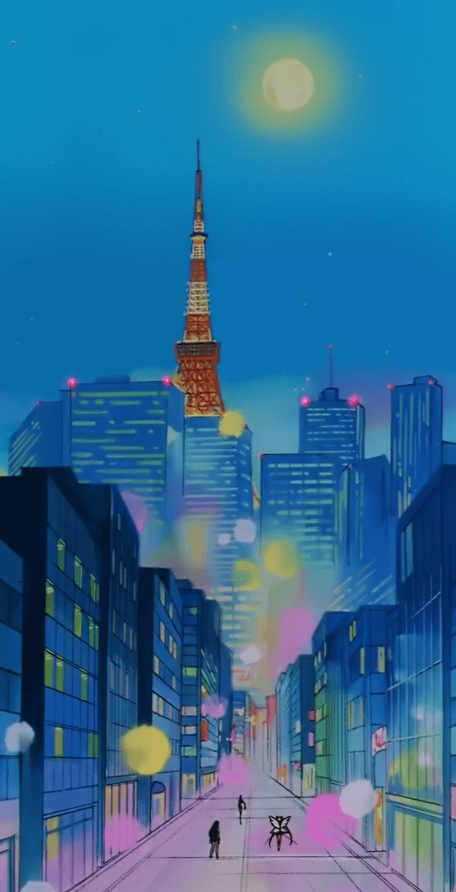 Sailor Moon Night Aesthetic Wallpapers Wallpaper Cave