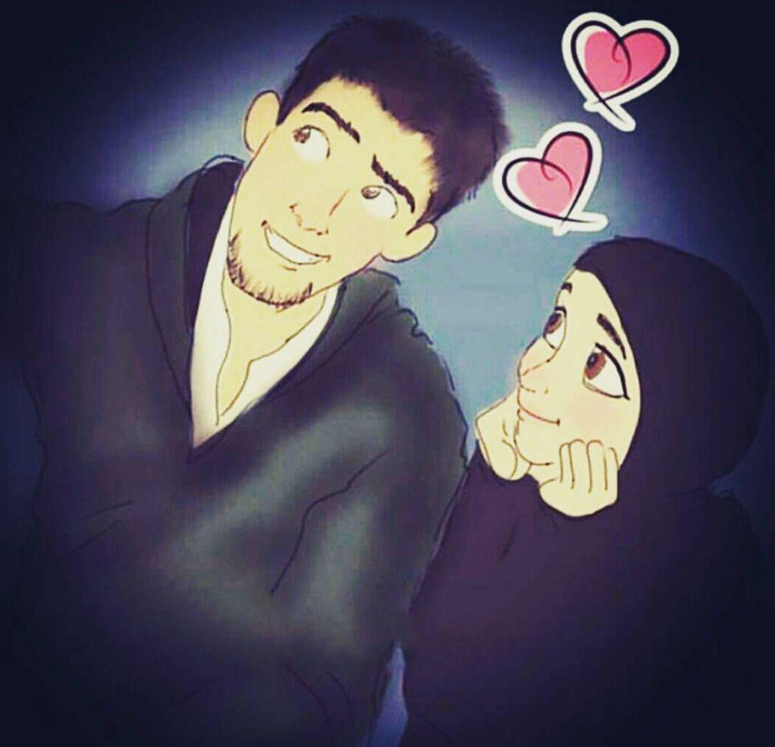 Islamic Anime Wallpapers Beautiful Love Muslim Couples