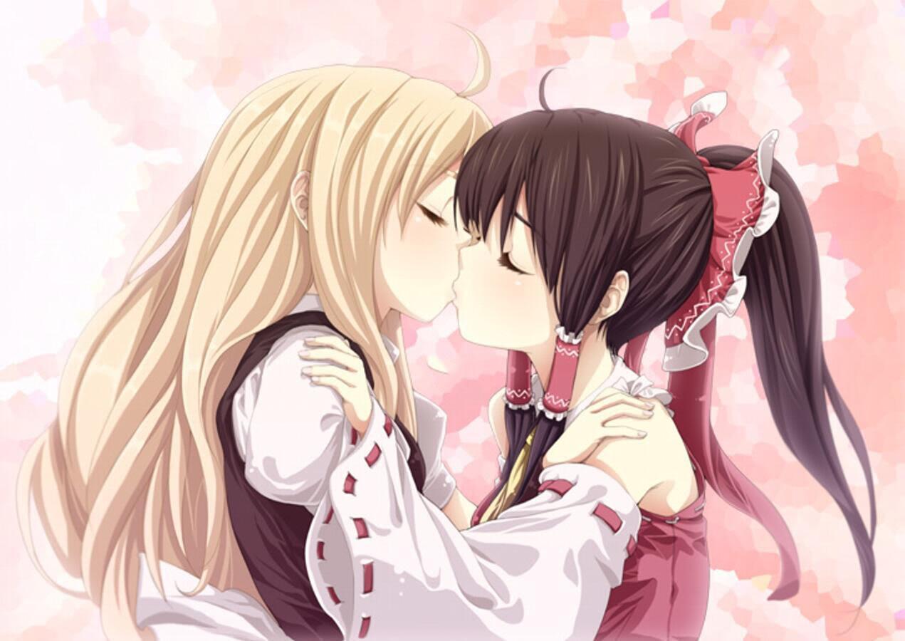 Kiss anime girl Anime Girls