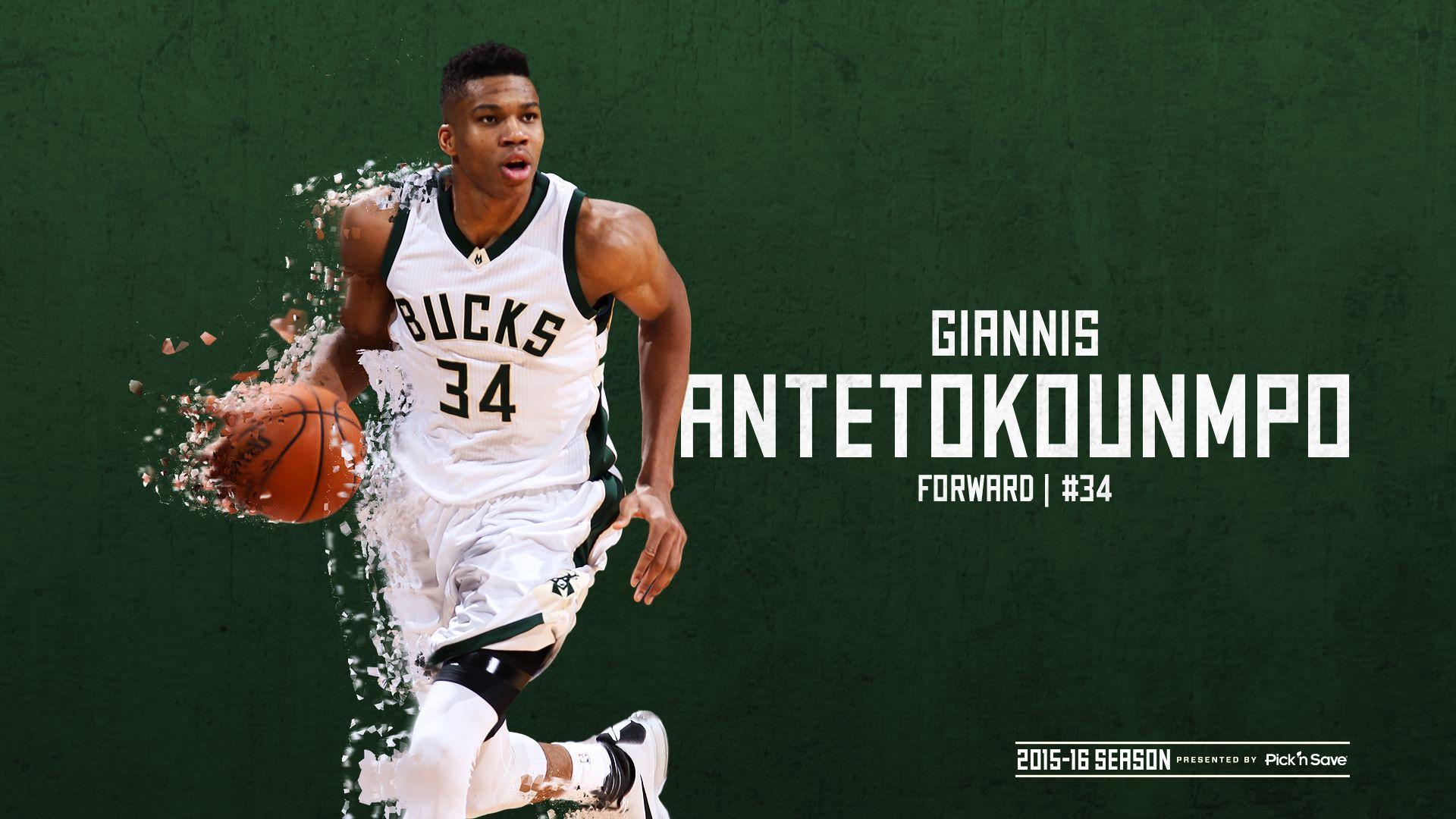 Milwaukee Bucks Wallpaper Giannis Antetokounmpo ...