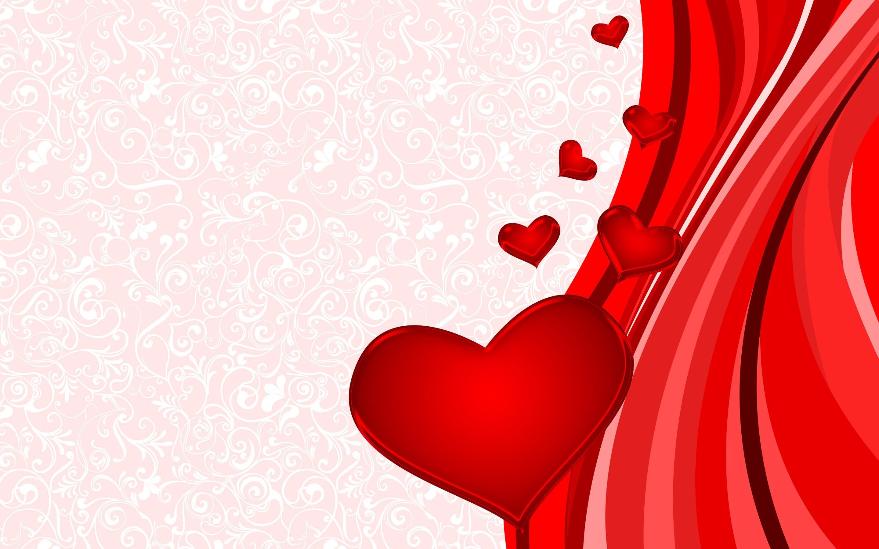 Valentine Day Heart Wallpapers Wallpaper Cave