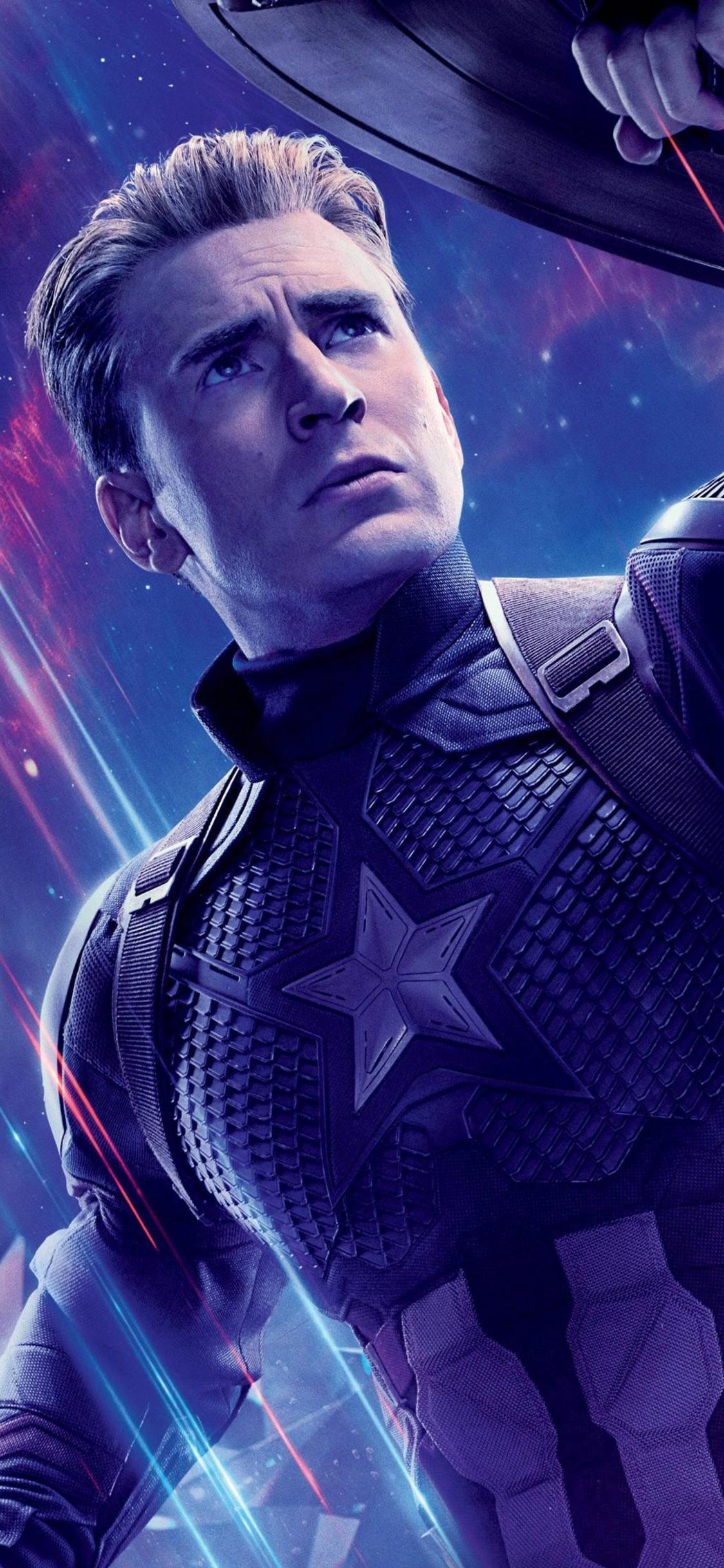 Captain America Avengers Endgame Phone Wallpapers Wallpaper Cave