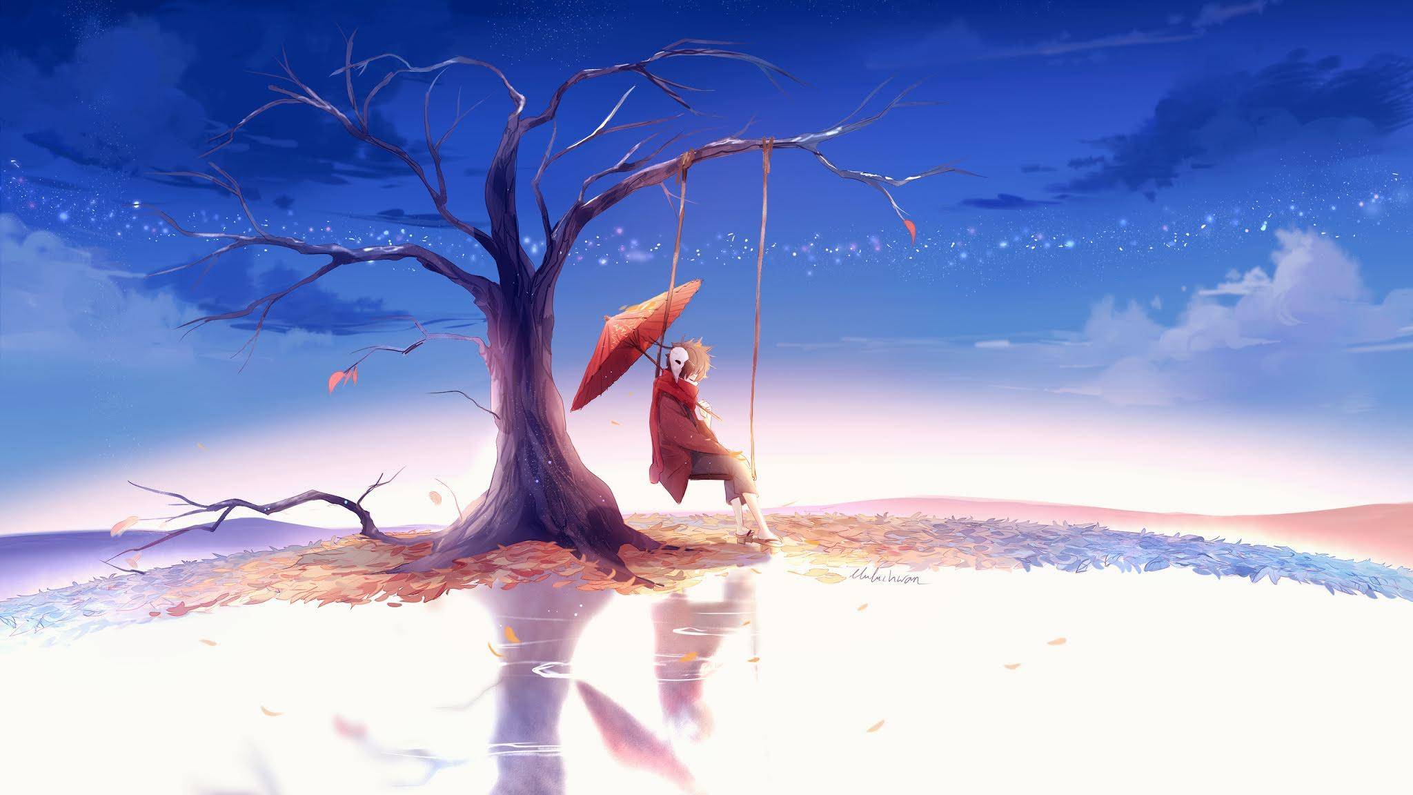 Alone Anime Boy Wallpapers - Wallpaper Cave