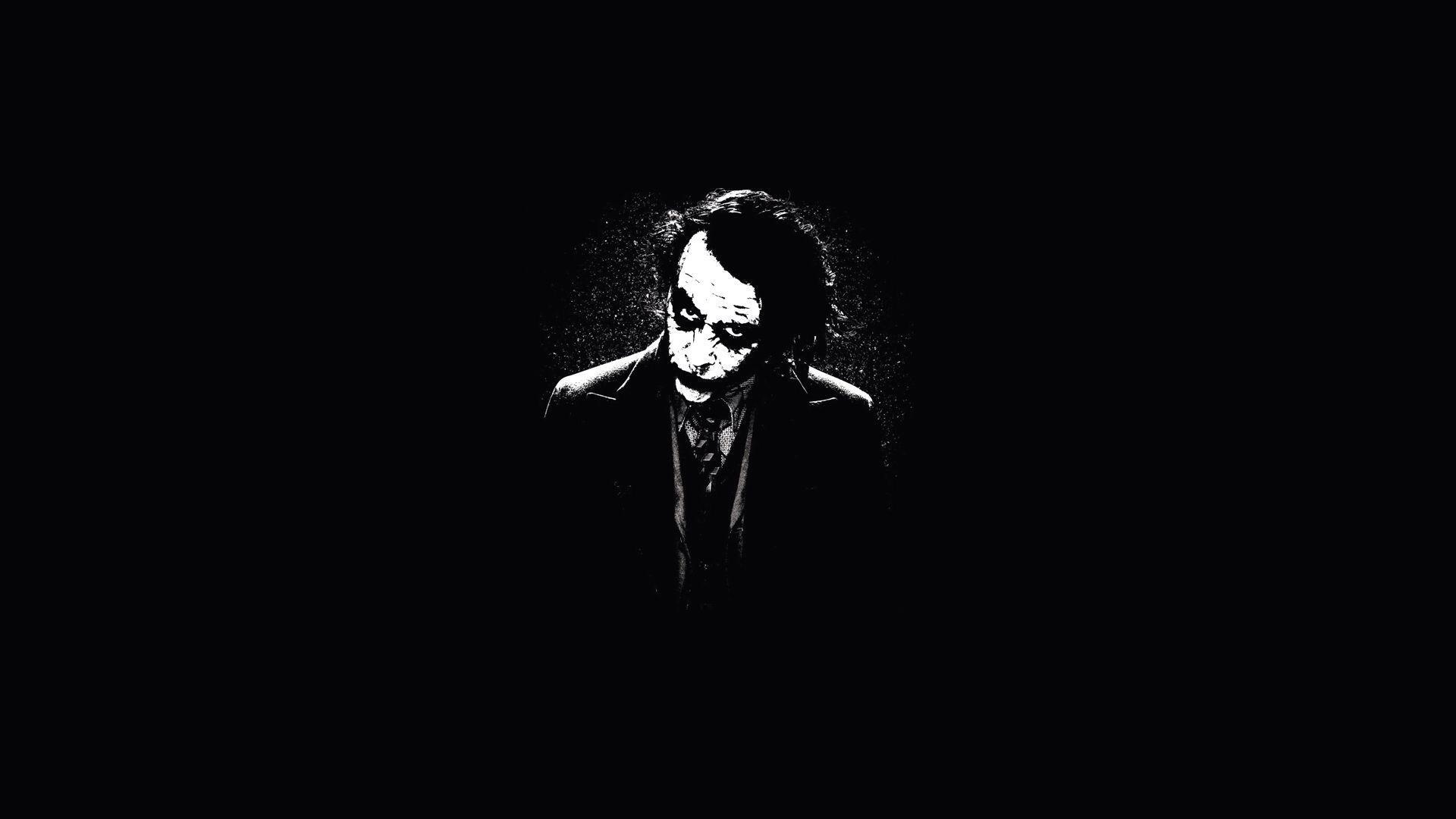 Joker Black Wallpapers Wallpaper Cave