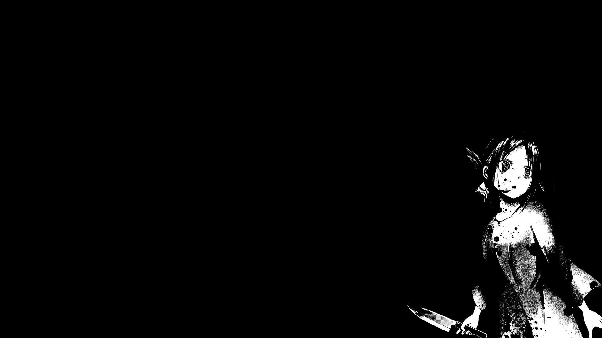 Black And White Anime 1920x1080 Wallpapers - Wallpaper Cave