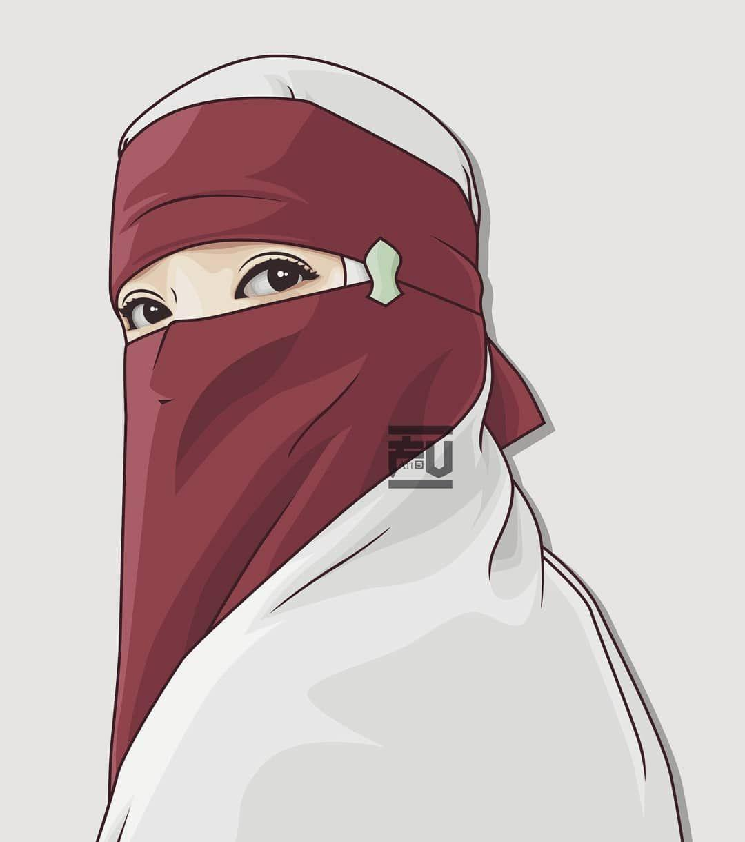 Muslim Girl Cartoon Wallpapers