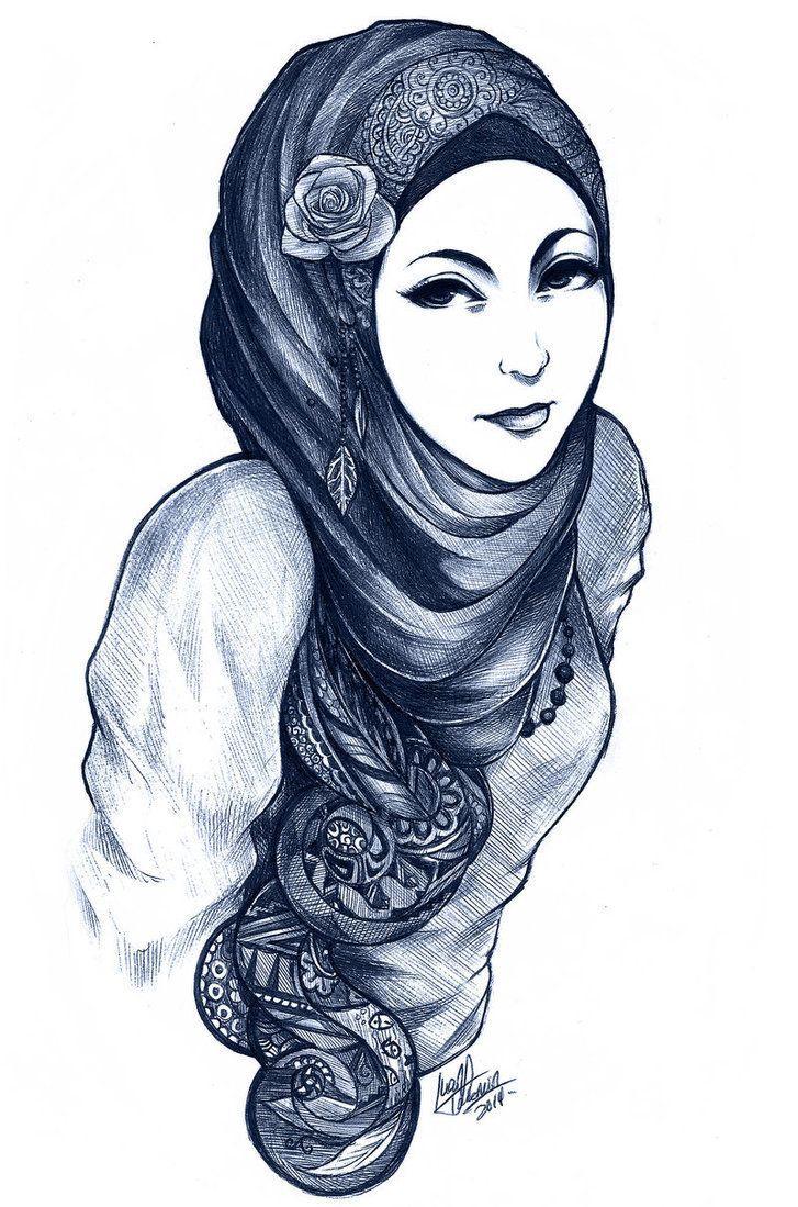 Anime girl cartoon drawing