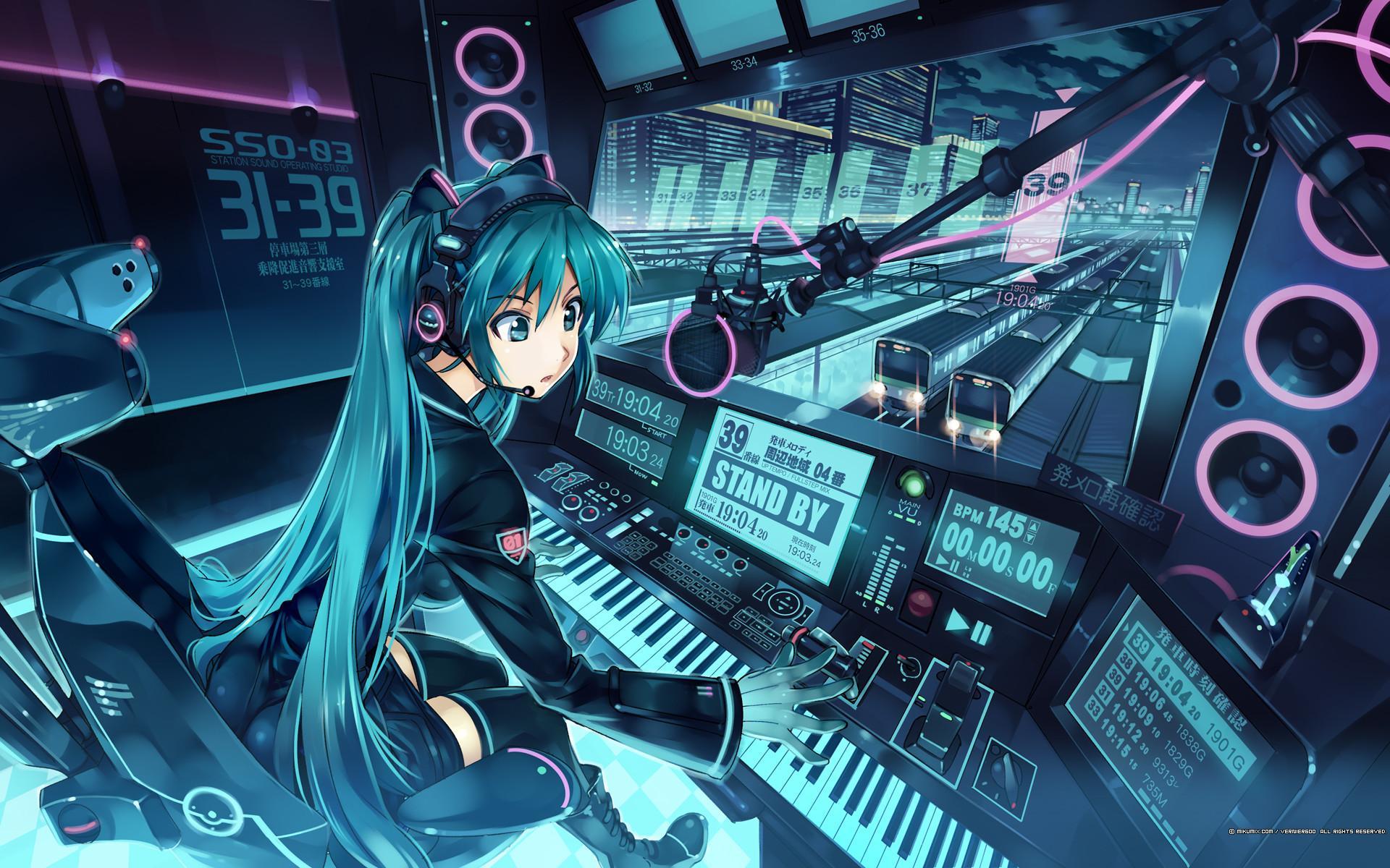 3d Wallpaper Anime Music gambar ke 1
