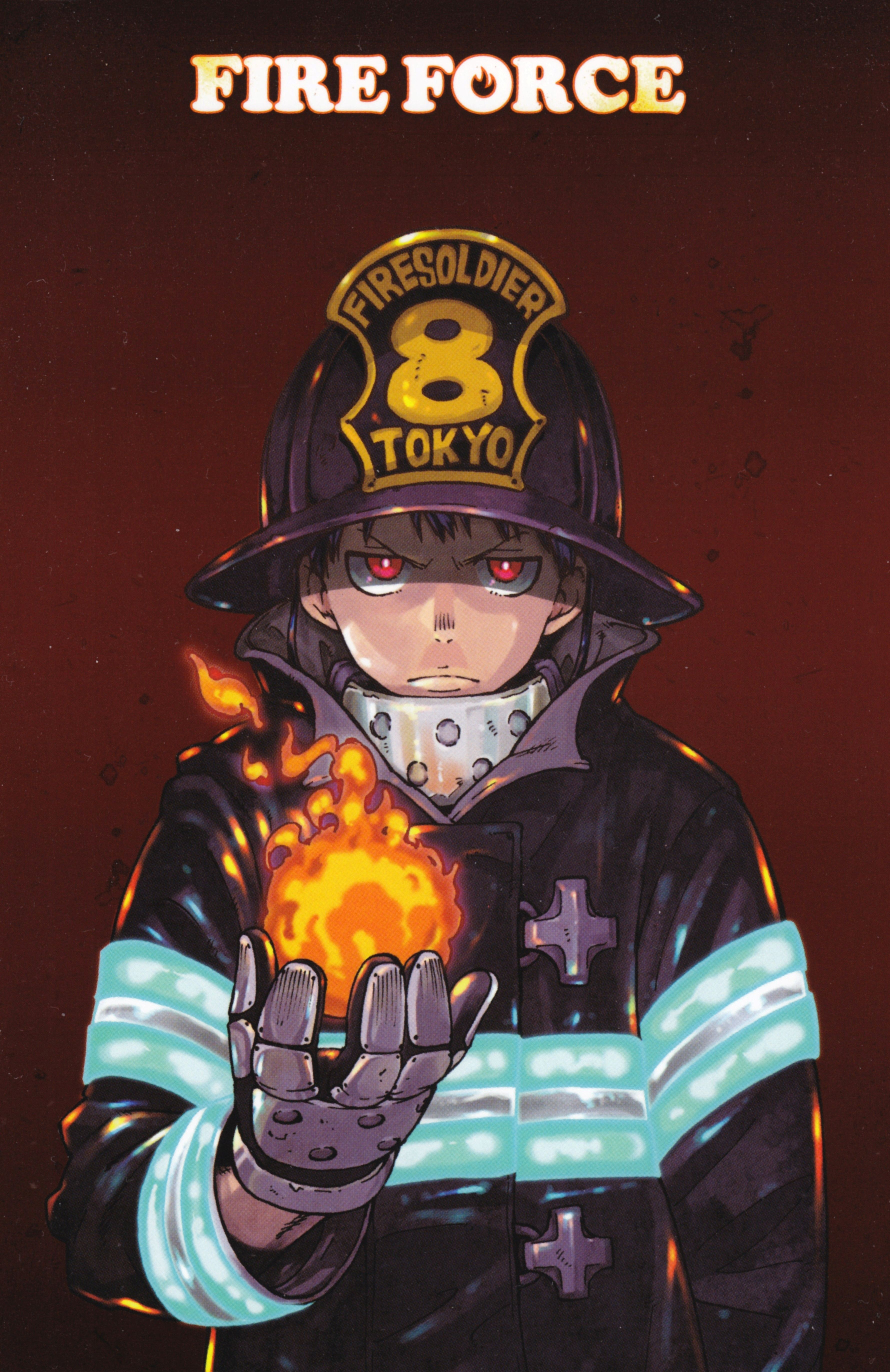 Anime Fire Force Wallpapers - Wallpaper Cave
