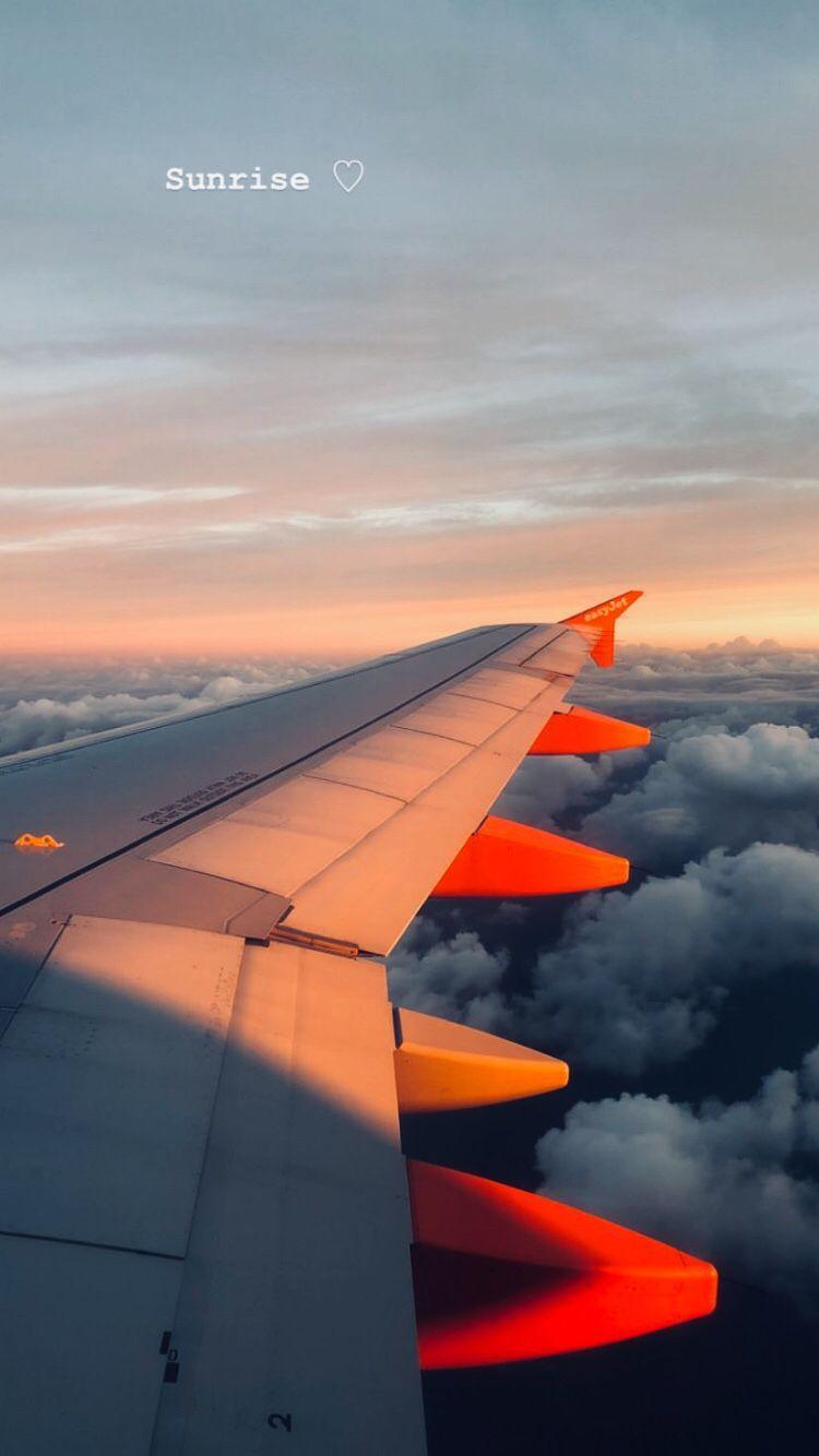 travel airplane window aesthetic