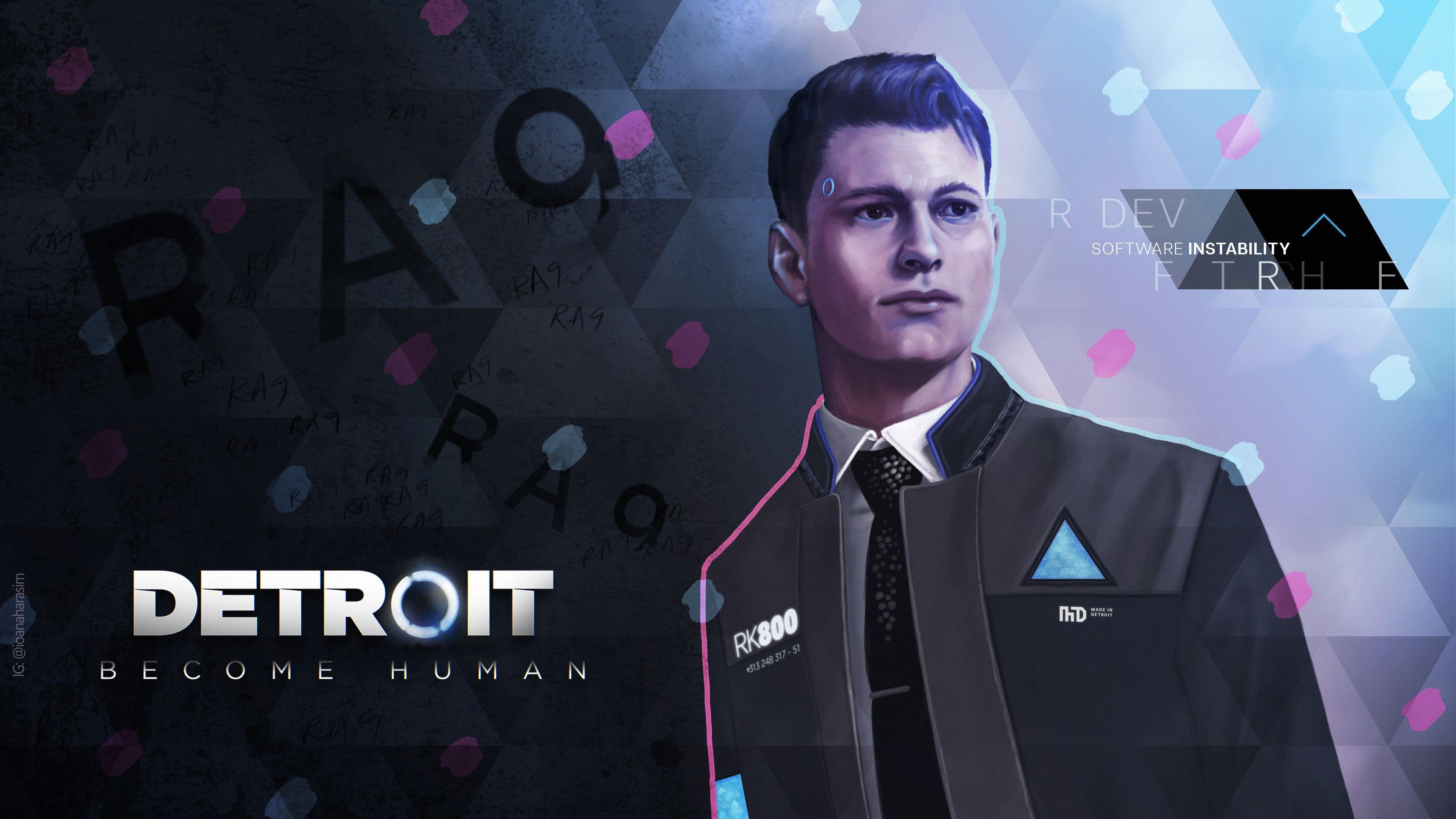 Detroit Become Human Wallpapers
