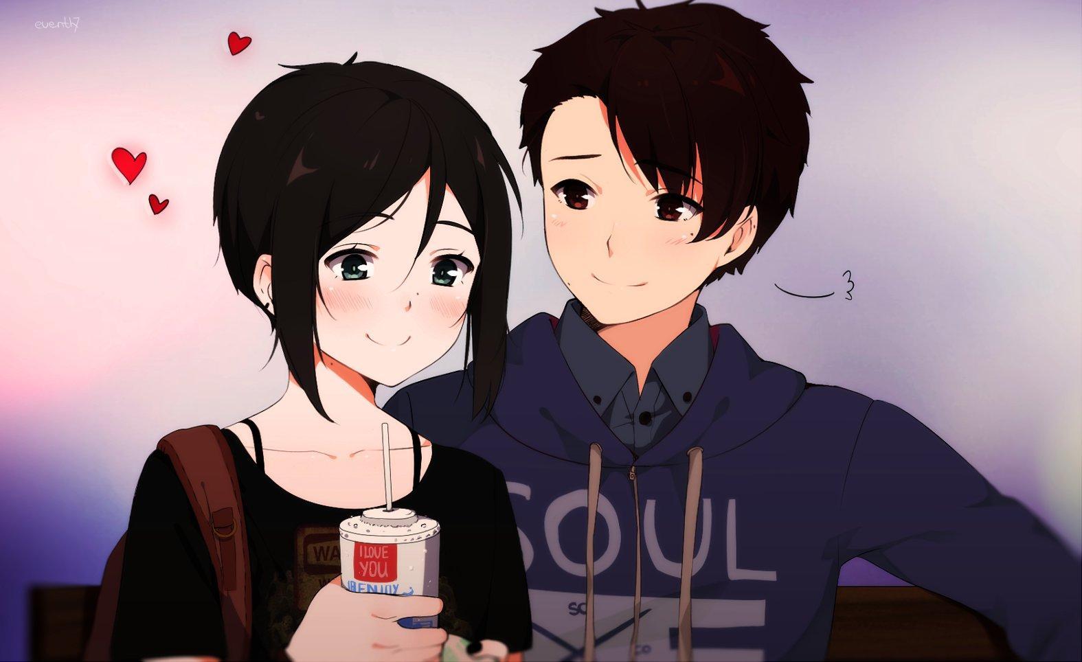Cute Anime Girl Boy Wallpapers ...