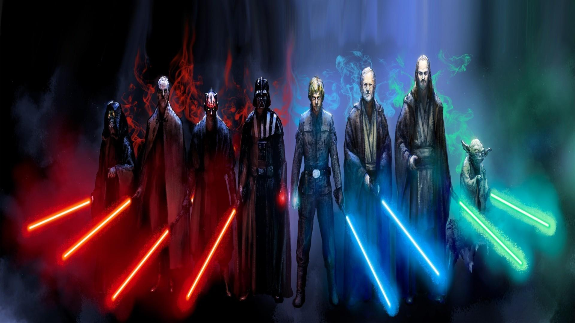 Jedi Vs Sith Wallpapers Wallpaper Cave