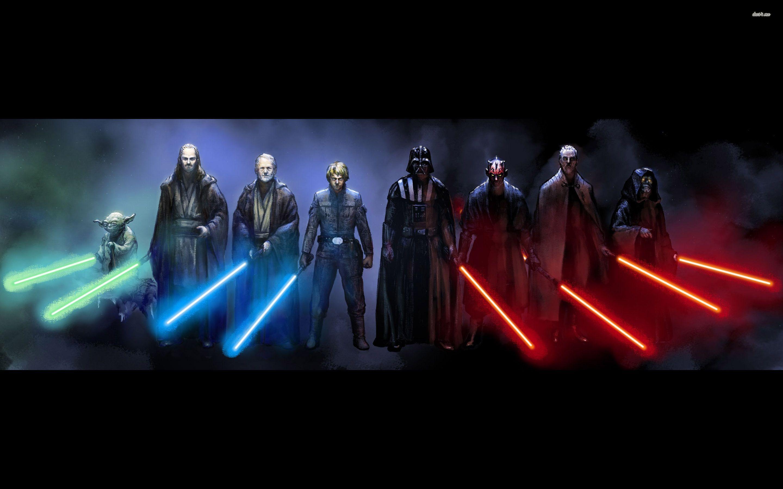 Jedi Vs Sith Wallpapers Wallpaper Cave