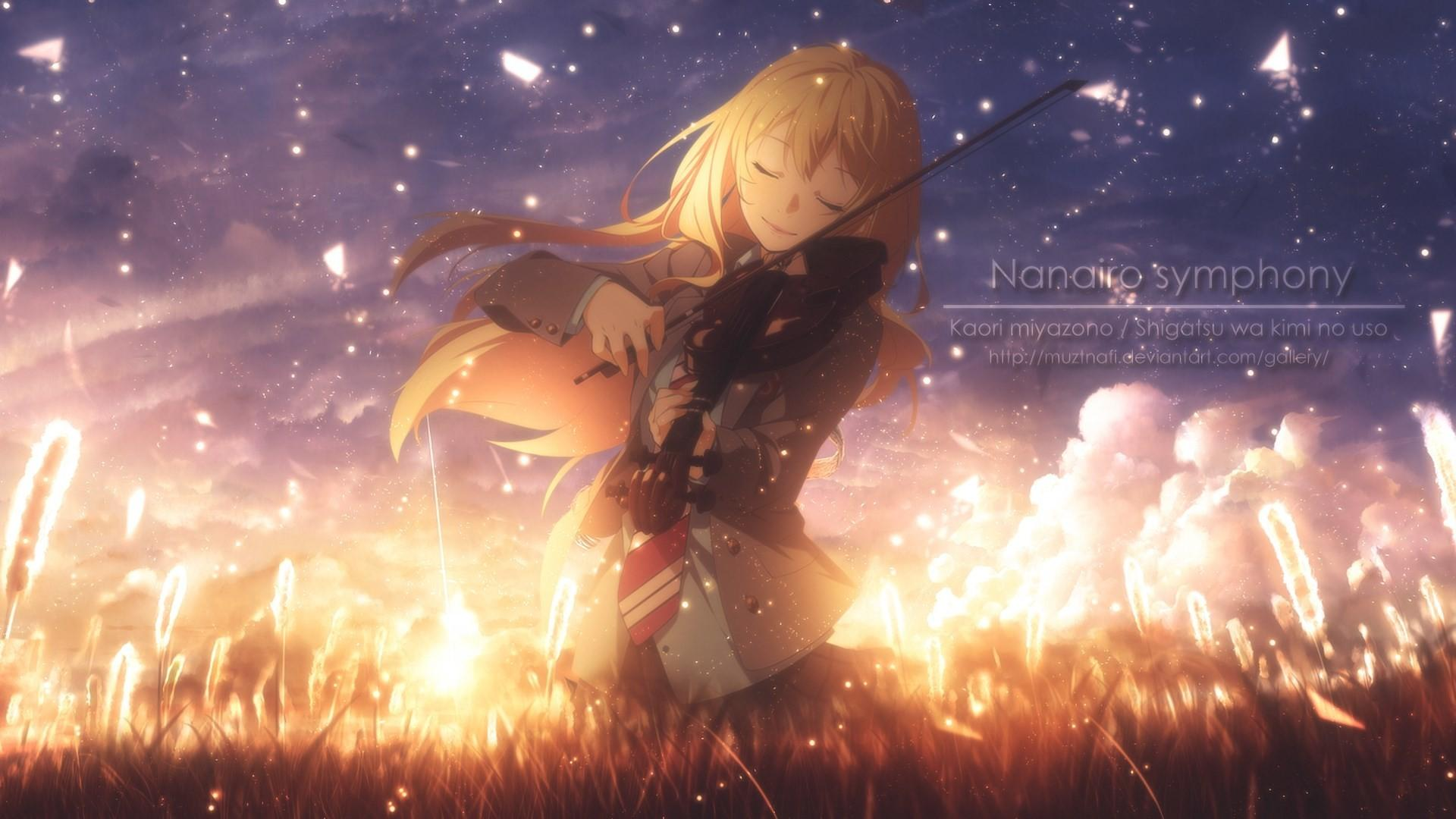 Your Lie In April Anime Wallpapers - Wallpaper Cave