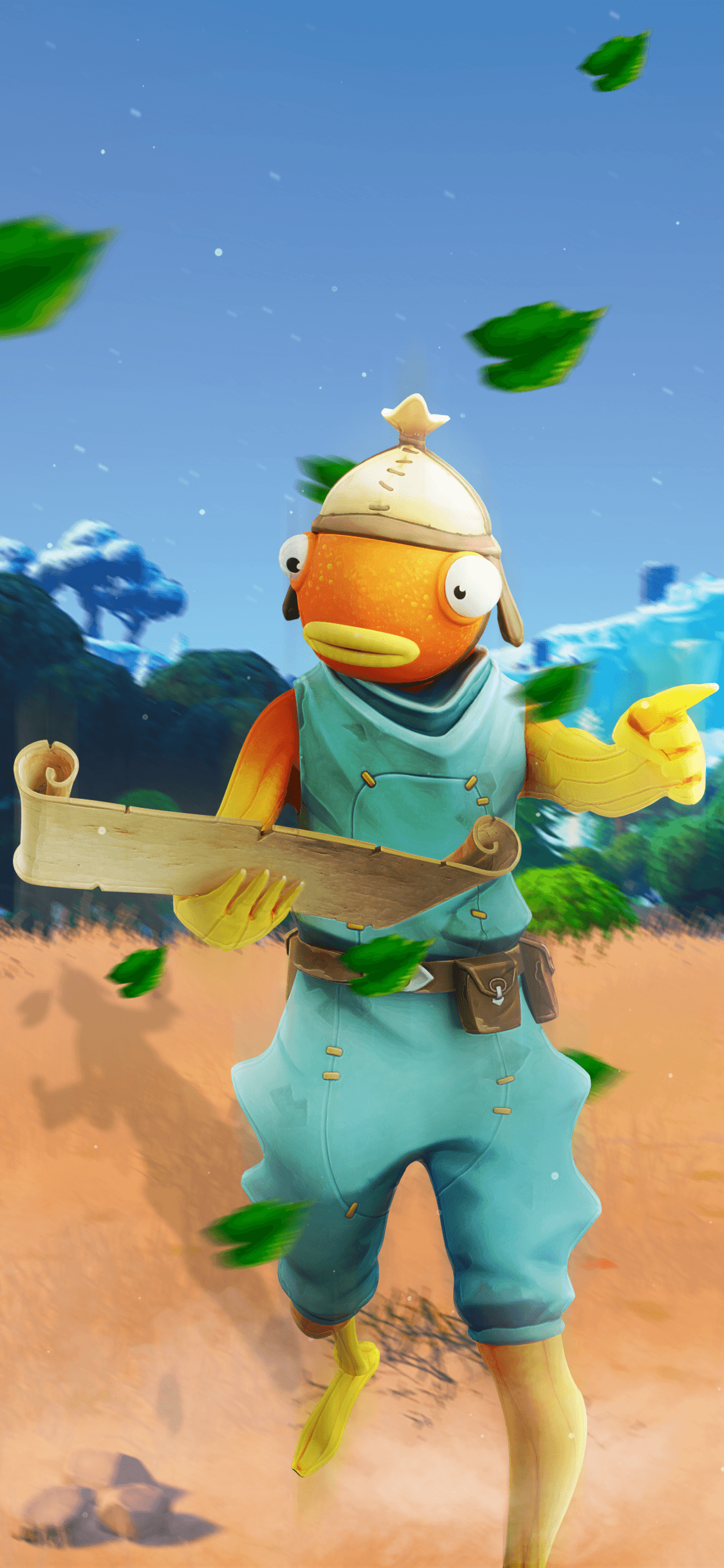Fortnite Fishstick Wallpapers Wallpaper Cave