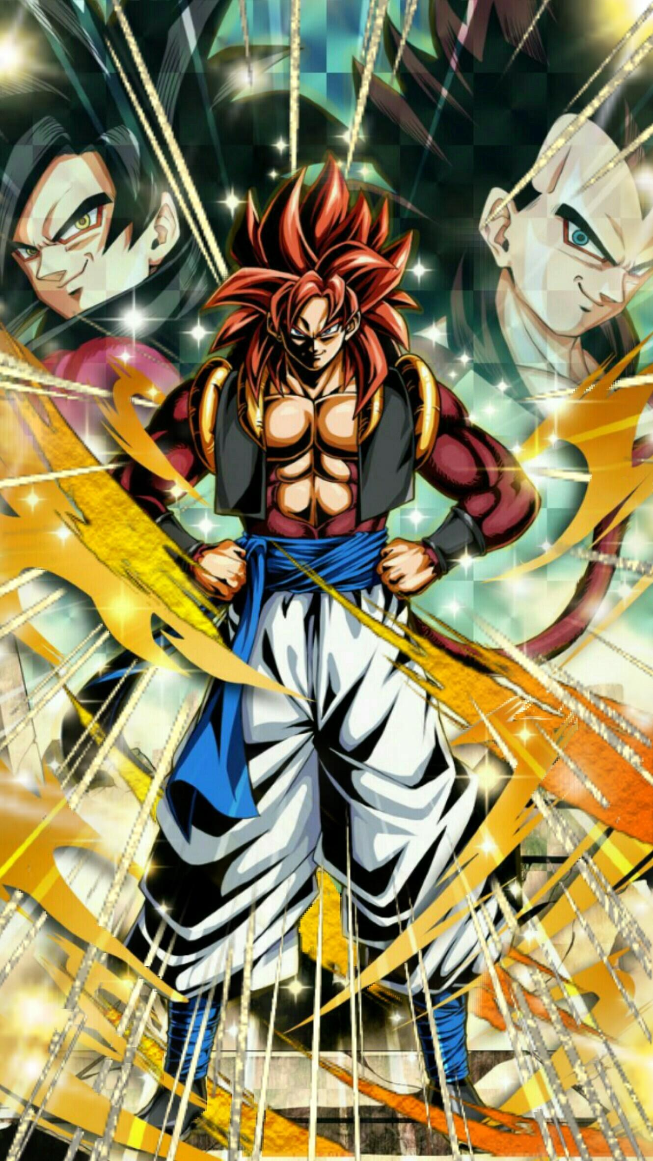 Free download 74 Gogeta Ss4 Wallpapers