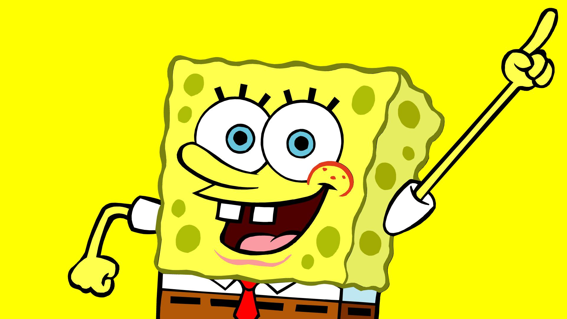 Yellow Spongebob Wide HD wallpapers