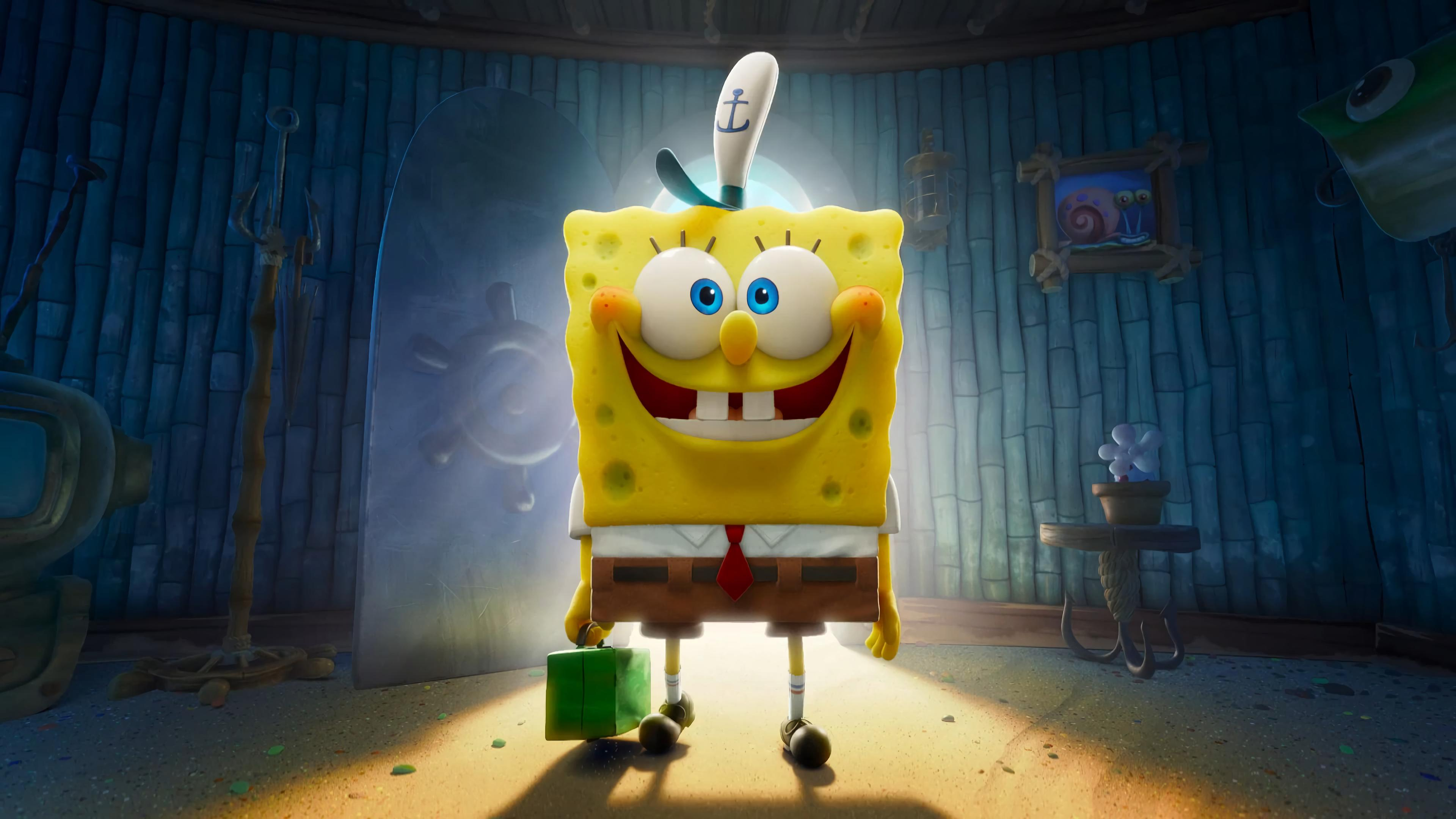 The SpongeBob Movie Sponge on the Run Wallpaper, HD Movies