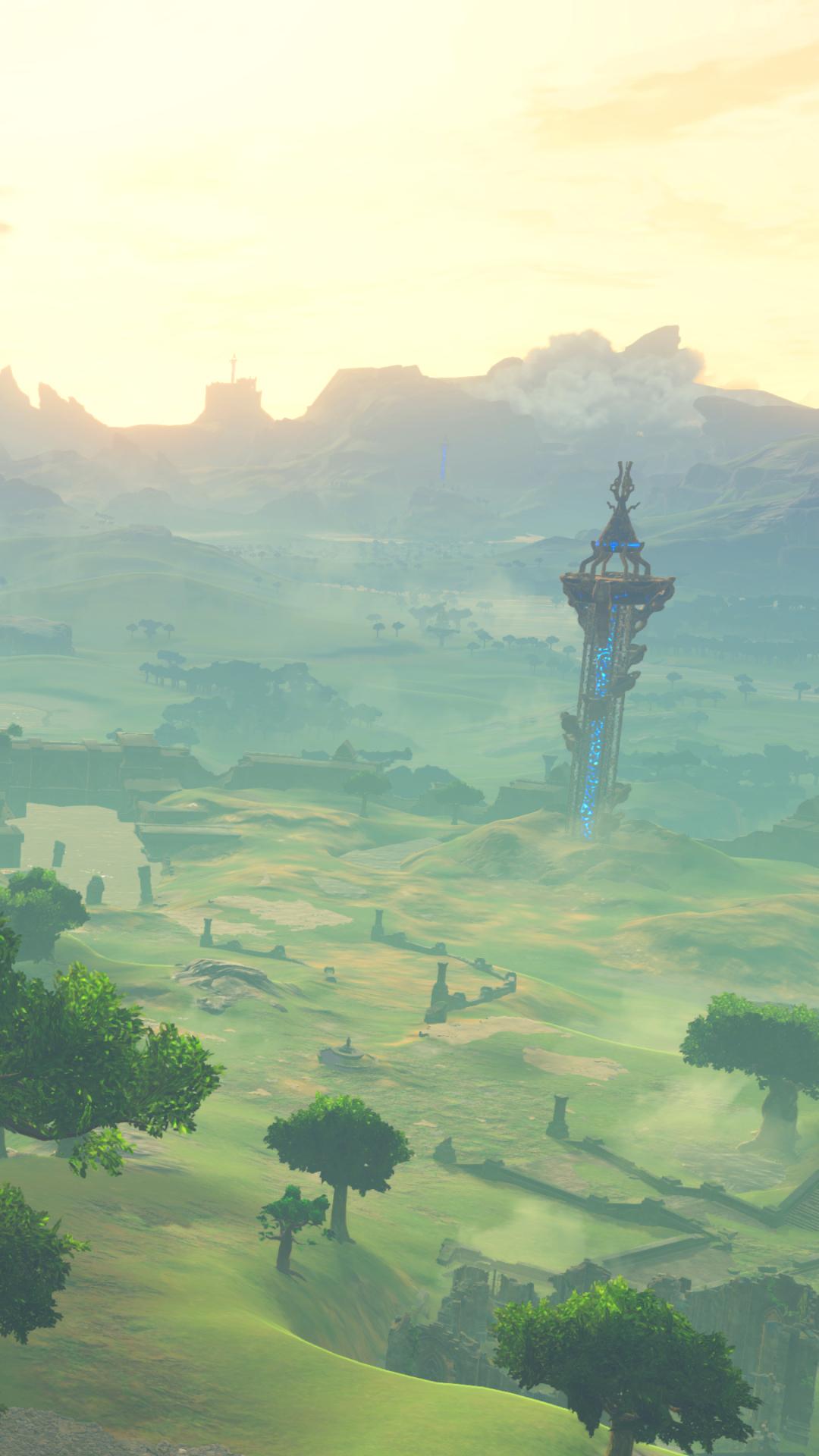 Legend Of Zelda Breath Of The Wild Phone Hd Wallpapers Wallpaper