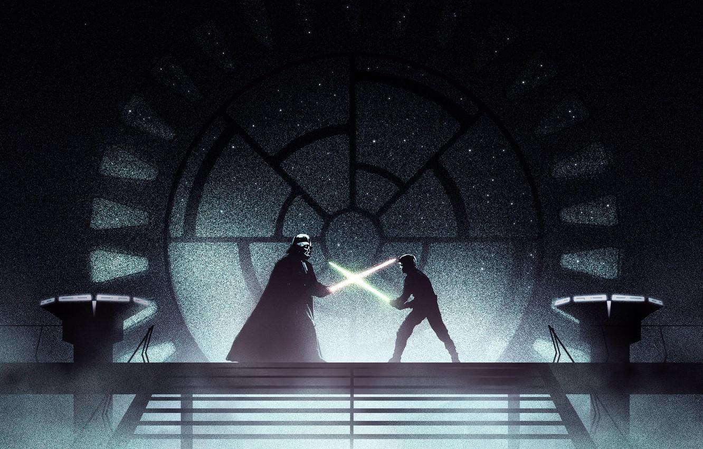 Luke Skywalker Vs Darth Vader Wallpapers Wallpaper Cave