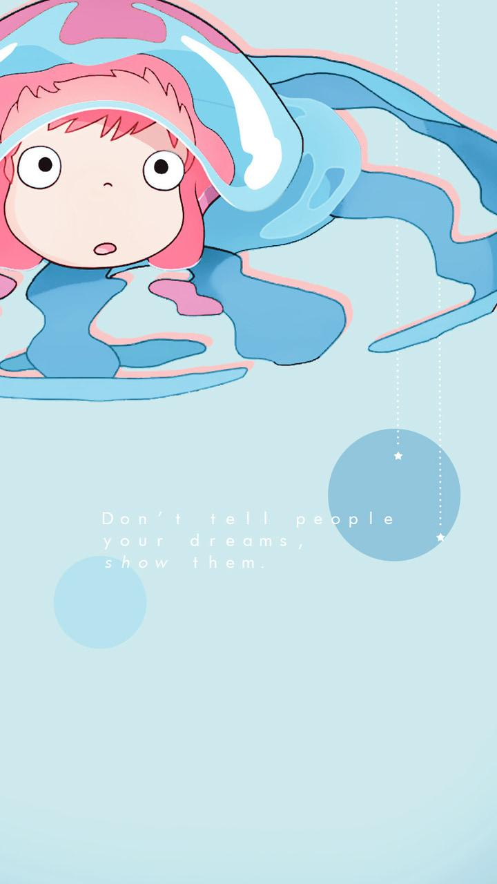 anime blue aesthetic wallpapers