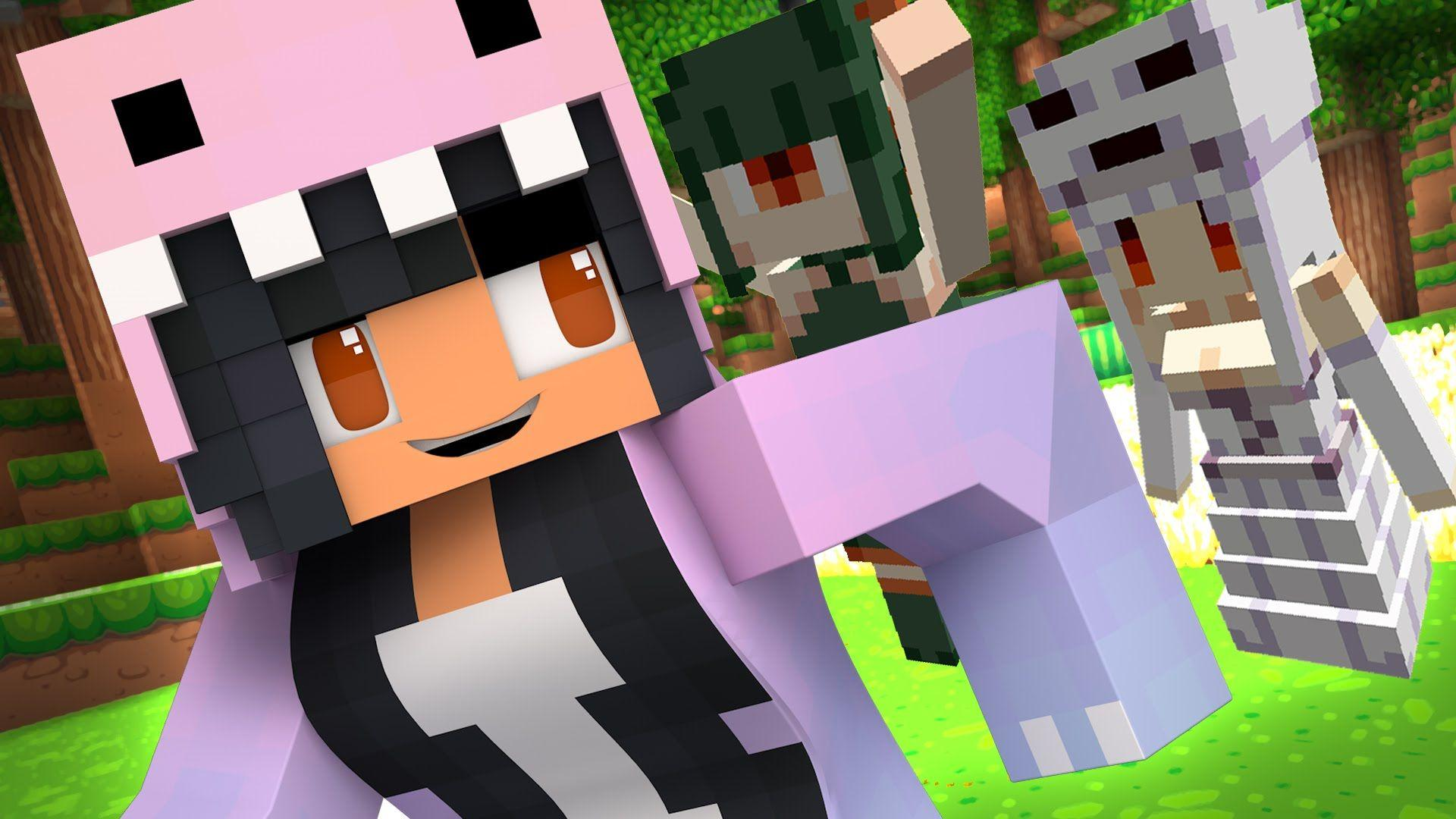 Girl Minecraft Skins Wallpapers Wallpaper Cave