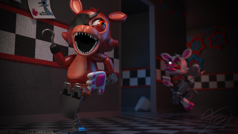Game mangle x foxy Mangle x