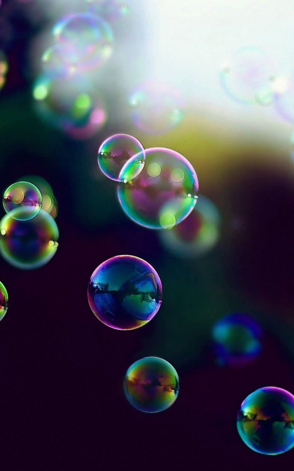 Colorful Iridescent Bubbles Wallpapers Wallpaper Cave