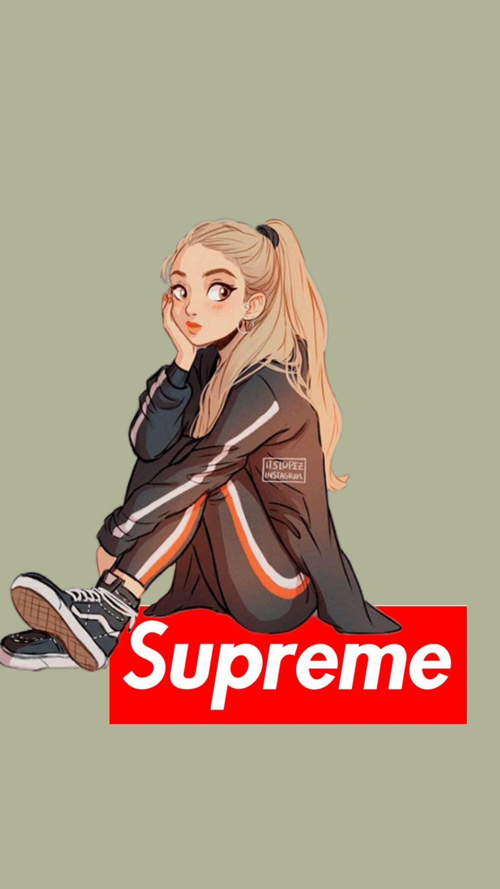 Supreme Anime Girl Wallpapers Wallpaper Cave