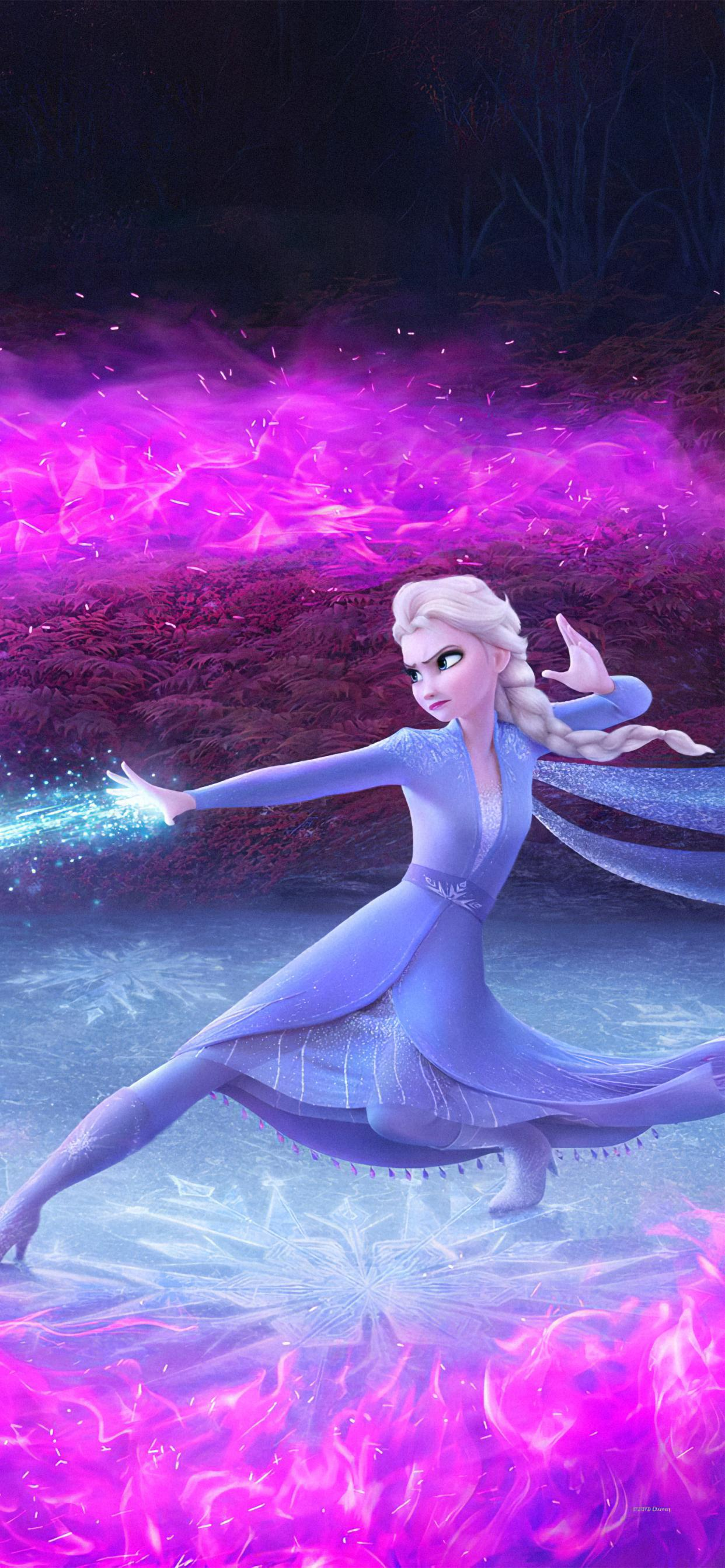 Elsa Frozen 2 Phone Wallpapers Wallpaper Cave