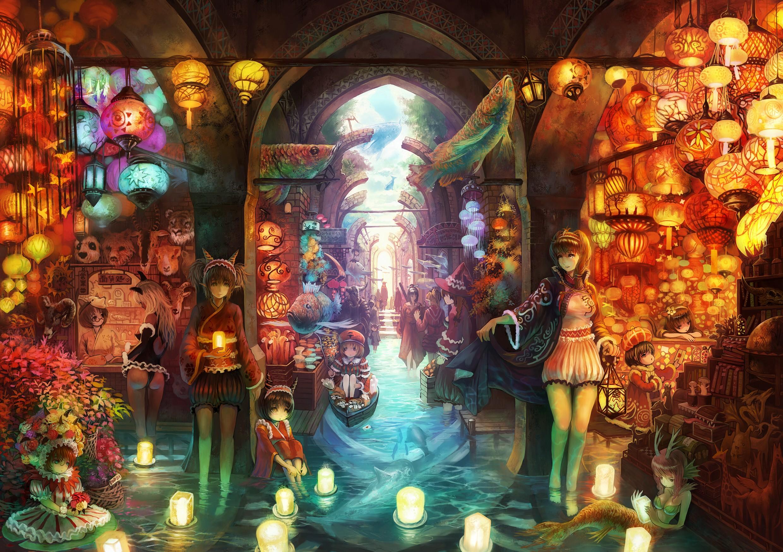 Scenery Chinese Anime Wallpaper Anime Wallpaper Hd