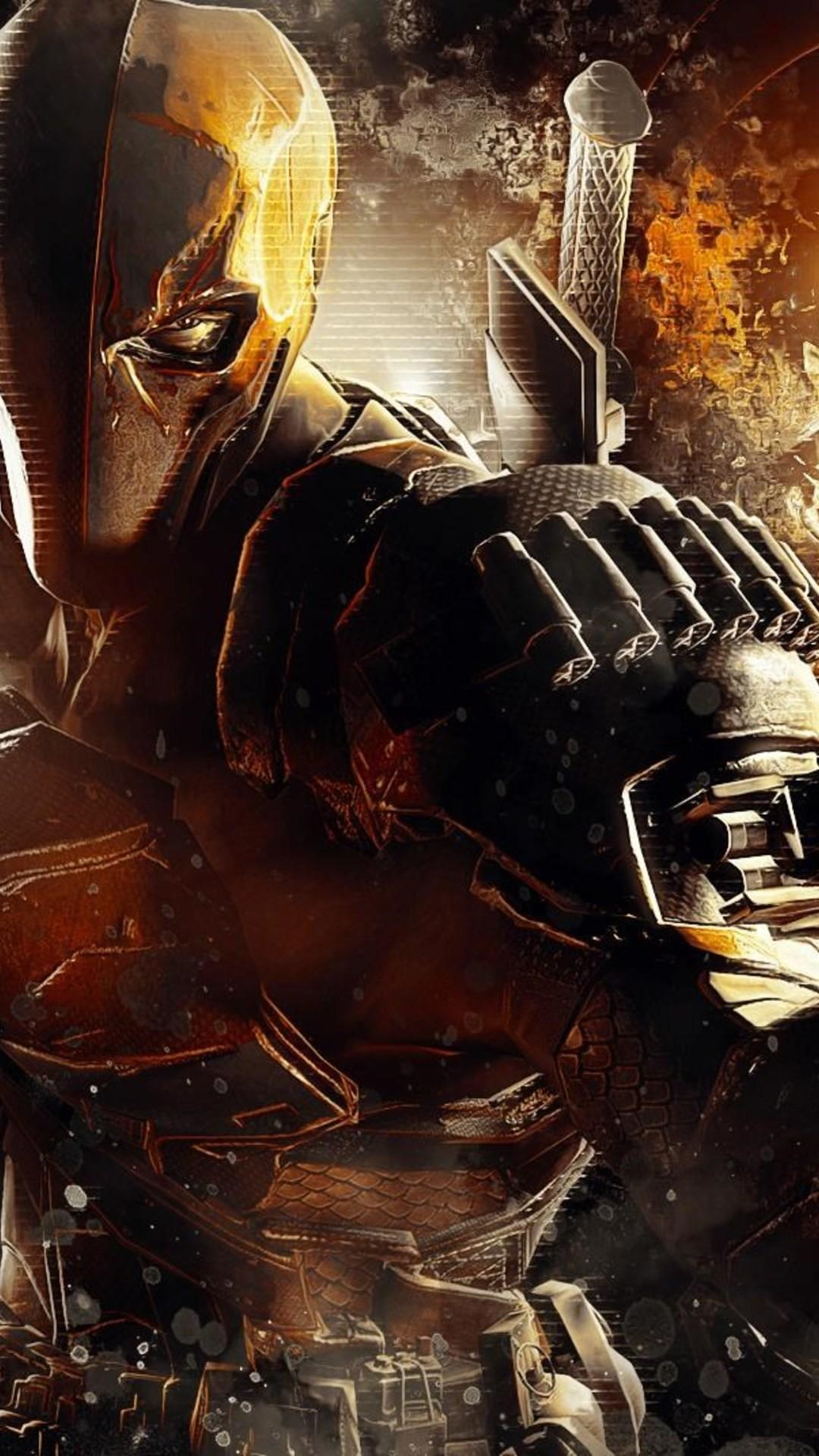 Deathstroke Full Hd Android Wallpapers Wallpaper Cave