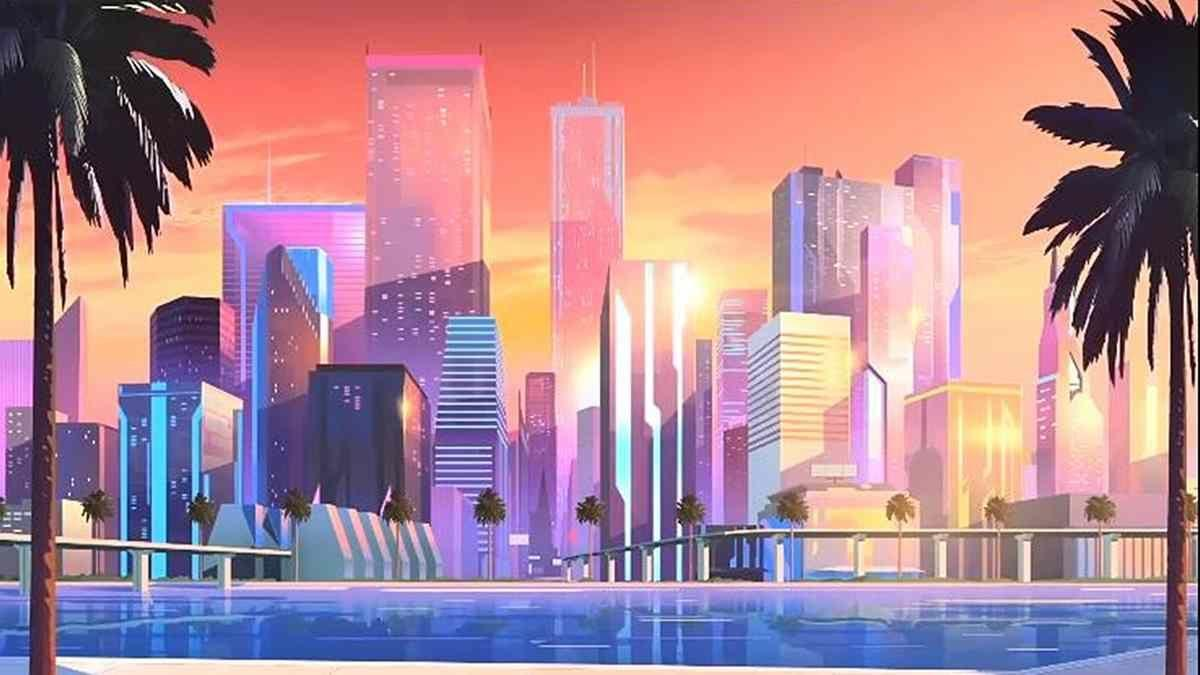 Retro Anime City Wallpapers Wallpaper Cave