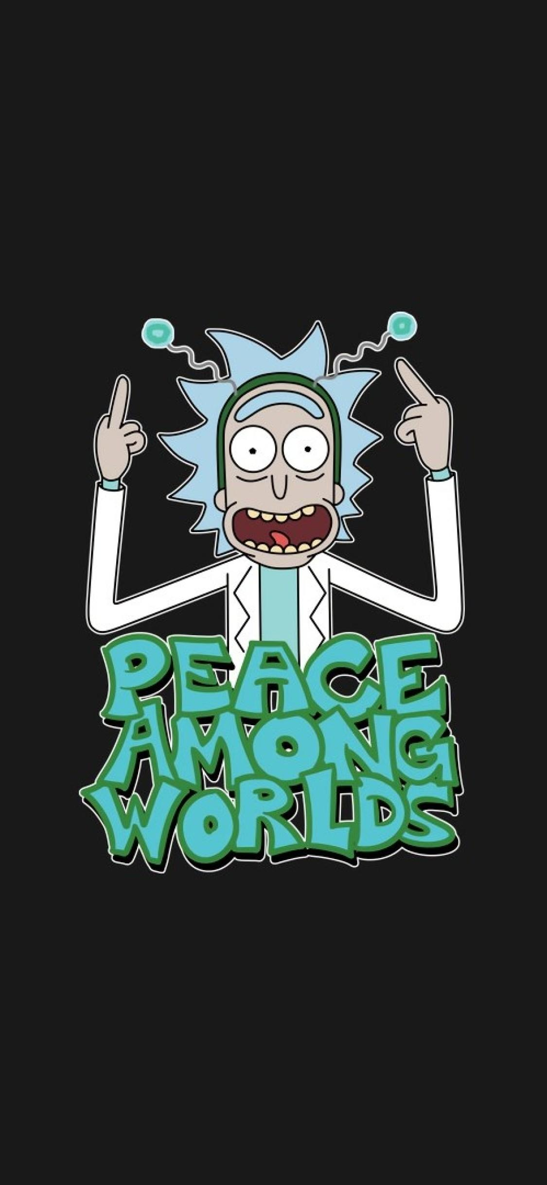 Rick And Morty iPhone X Wallpapers - Wallpaper Cave