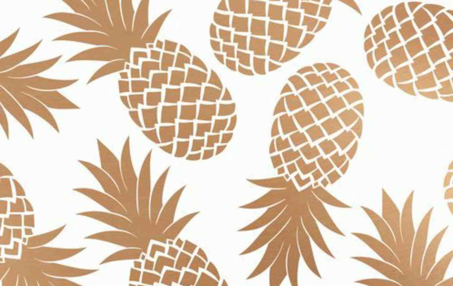 Pineapple Aesthetic Wallpapers Wallpaper Cave