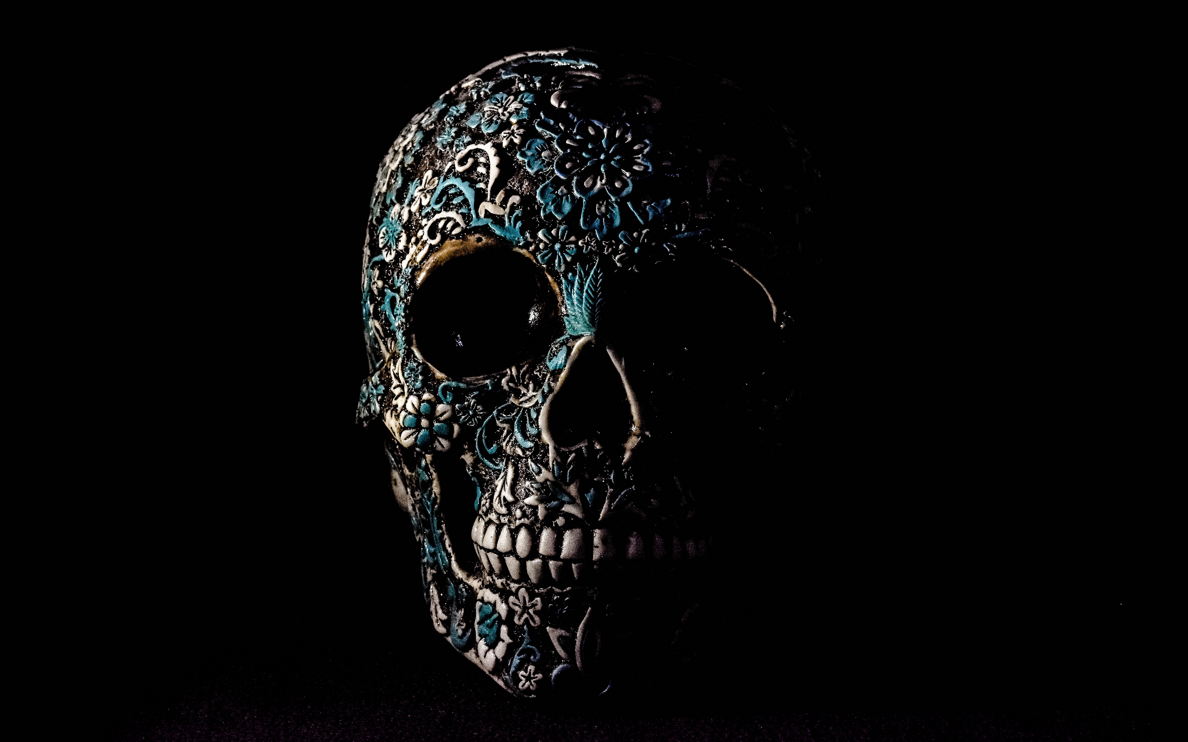 Skull Ultra Hd Wallpapers Wallpaper Cave