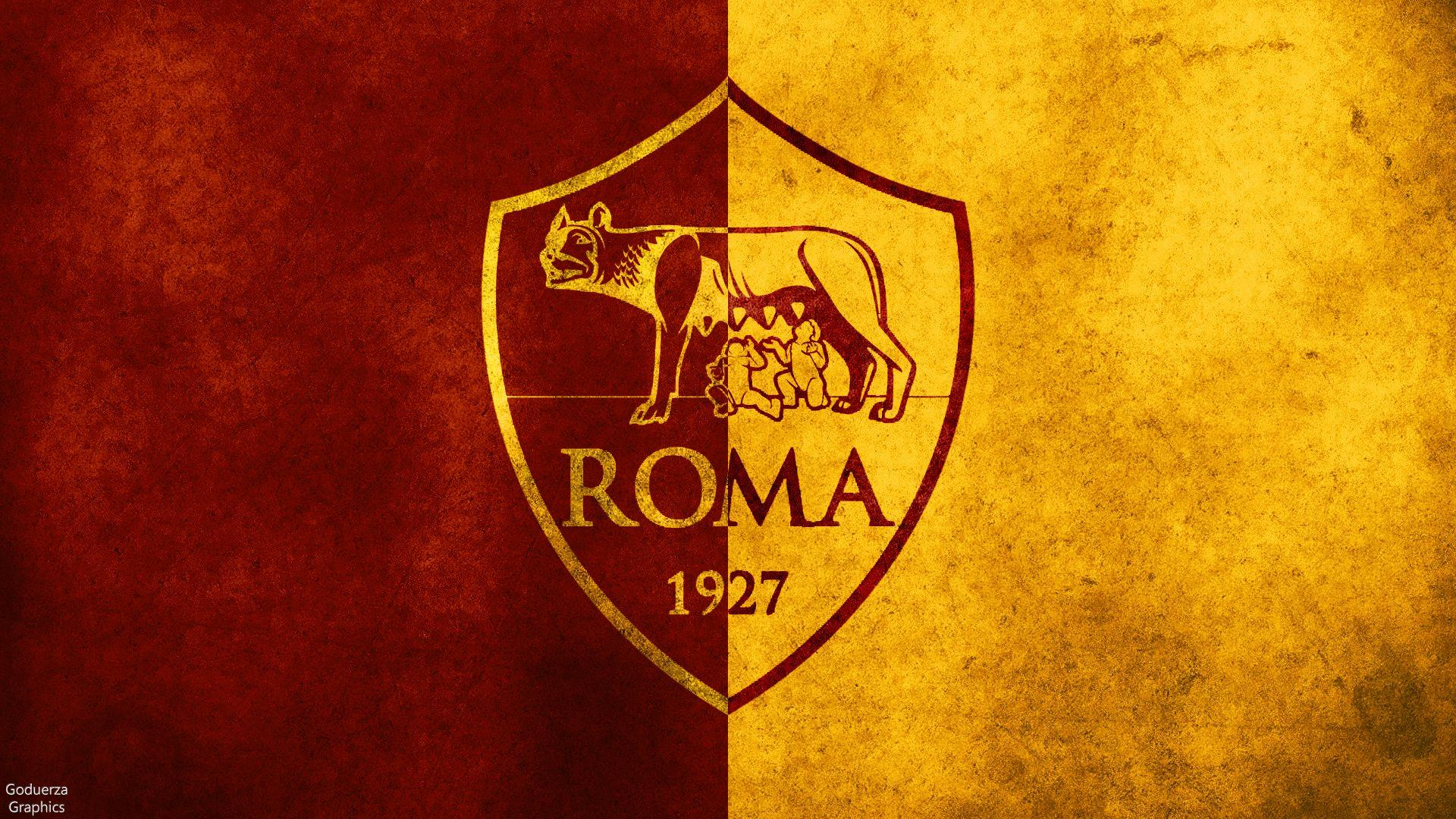 Logo As Roma Desktop Wallpapers Wallpaper Cave
